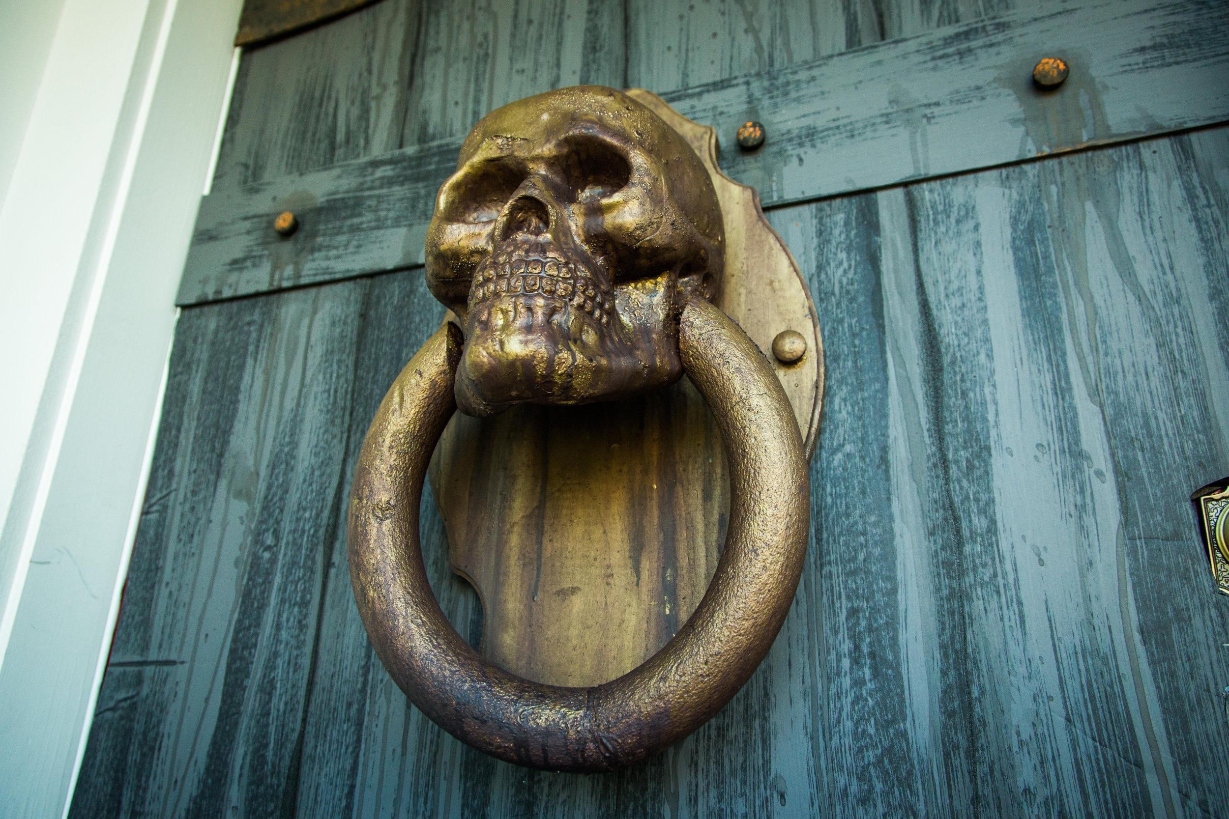 How To  DIY Skull Door Knocker  Home & Family  Hallmark  ~ 003642_Halloween Door Knocker