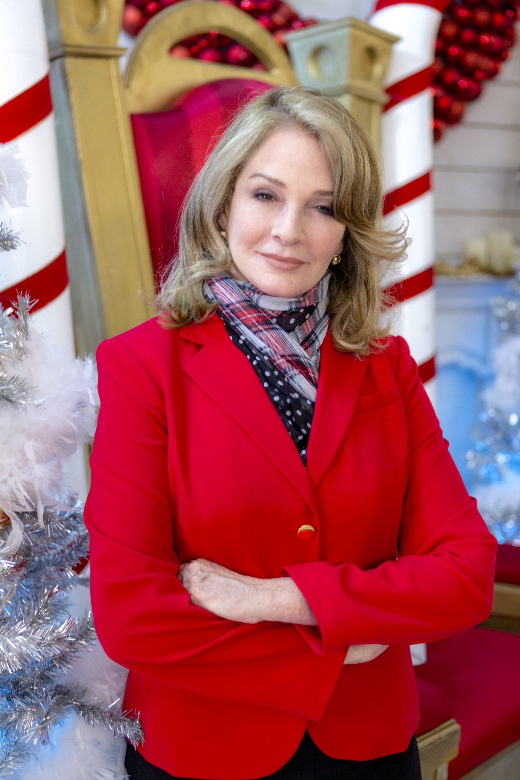 Deidre Hall as Victoria on My Christmas Dream | Hallmark Channel
