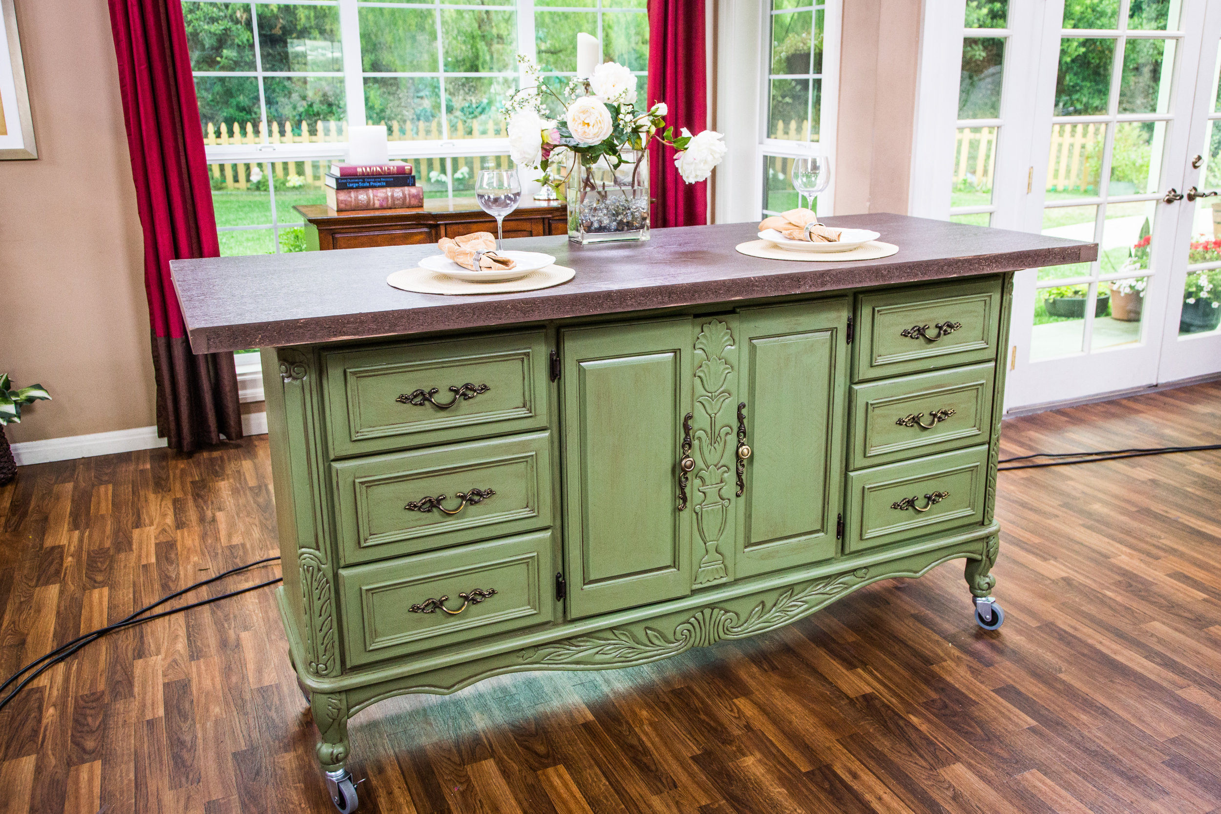 Diy Kitchen Island how-to - ken's diy kitchen island | home & family | hallmark channel
