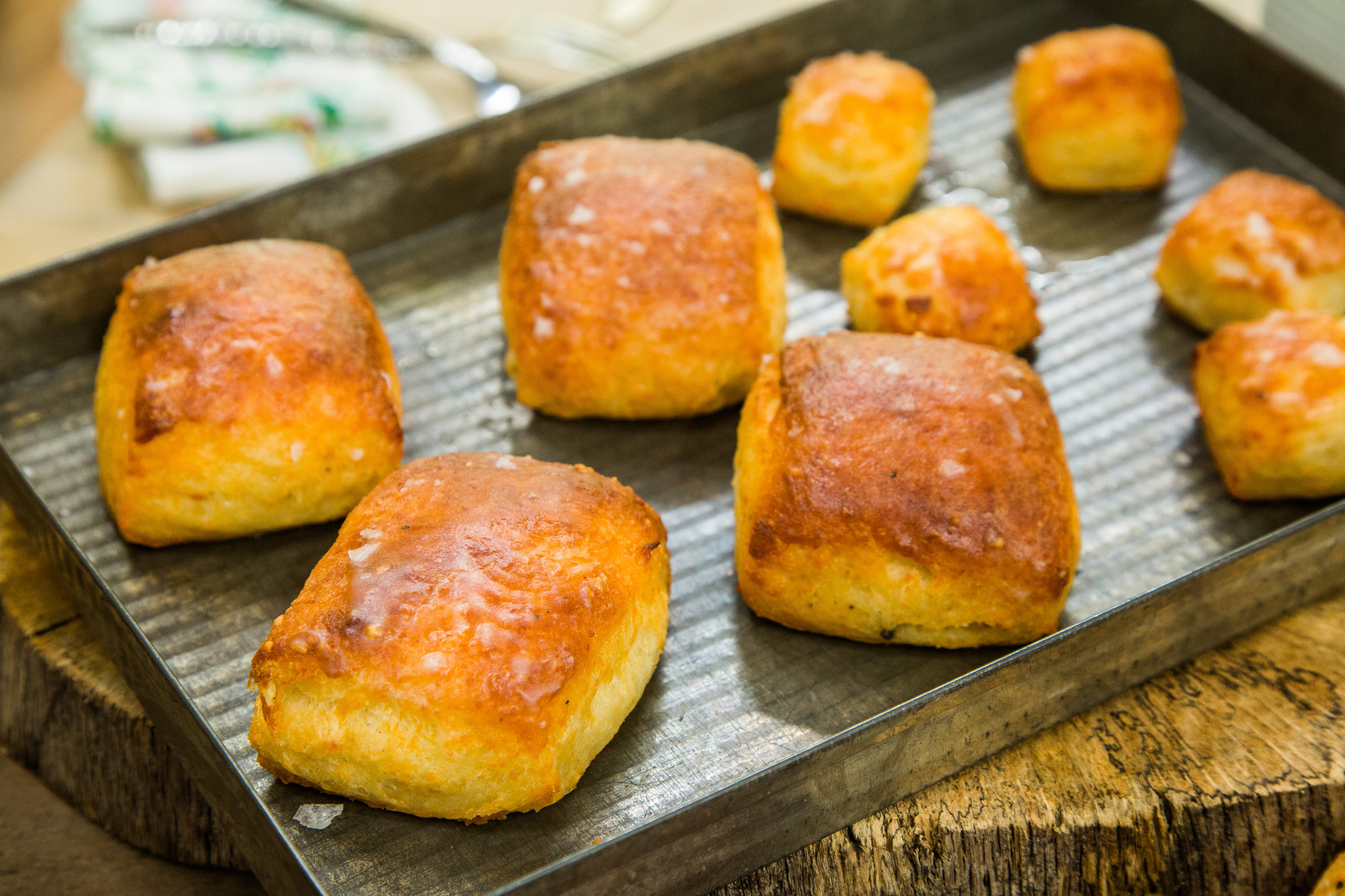 Recipes - Home & Family: Parmesan Black Pepper Biscuits ...