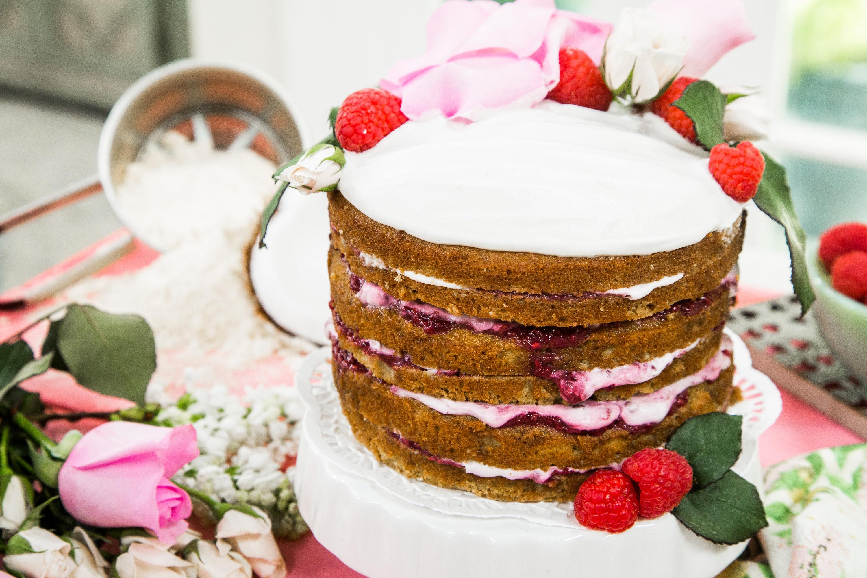Coconut Jelly Cake Recipe: Recipes - Vanilla Coconut Jam Cake