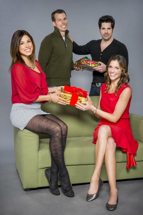 Cristina Rosato as Mia on Finding Christmas | Hallmark Channel