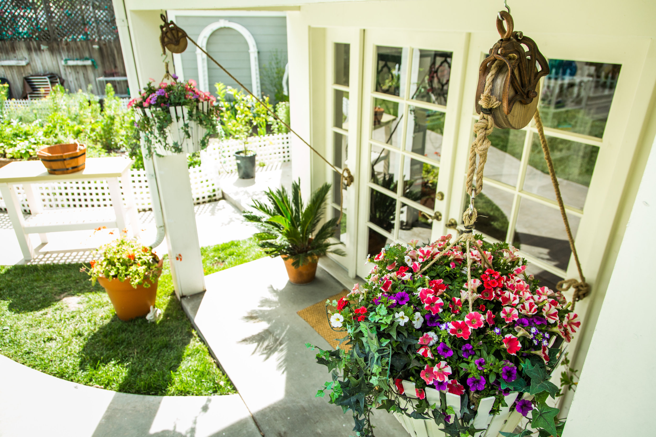 DIY Pulley Planter   Home & Family   Hallmark Channel