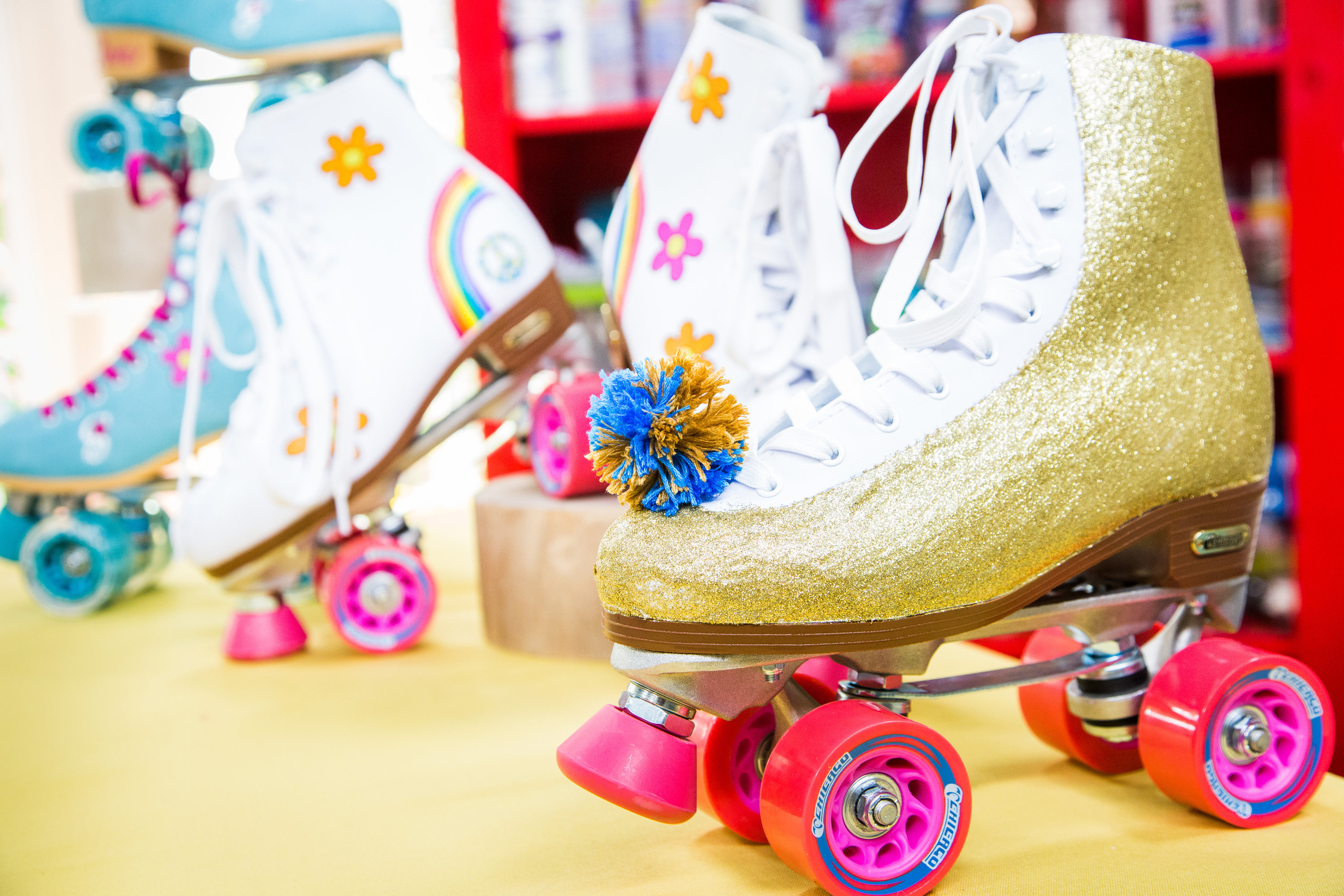 DIY Personalized Roller Skates   Home & Family   Hallmark Channel