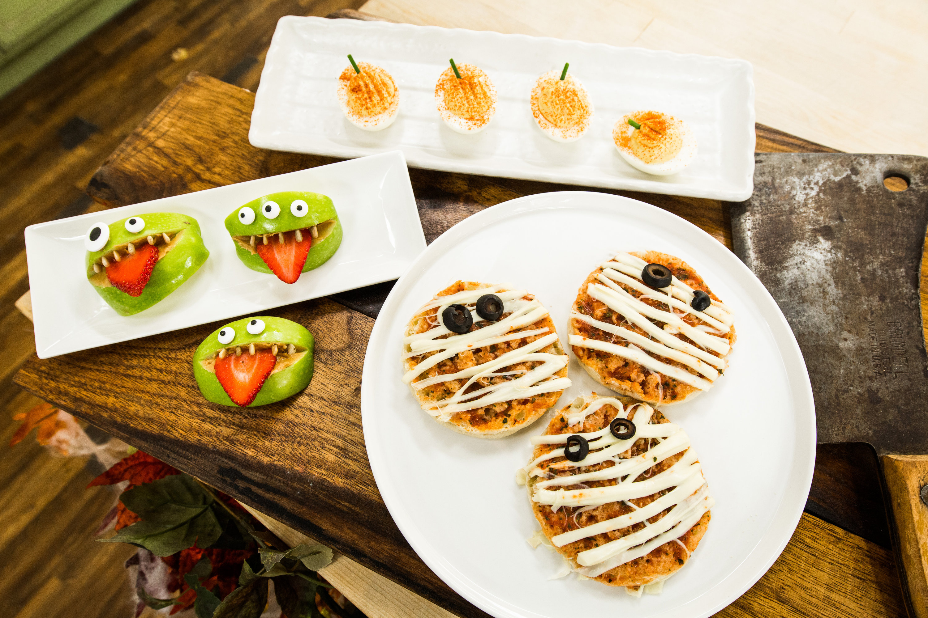 recipes - last-minute halloween appetizers | hallmark channel