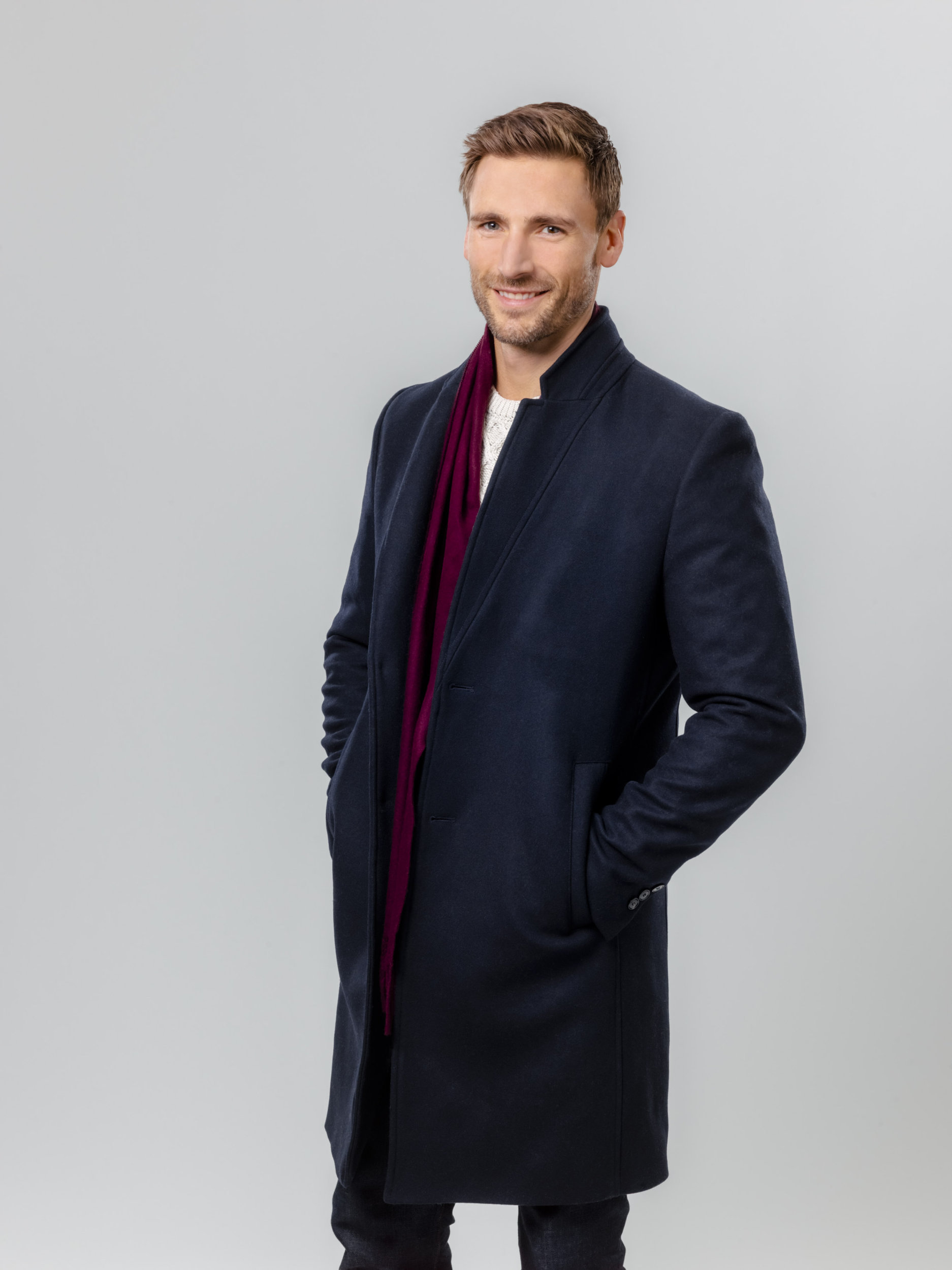 Andrew Walker as Zach Callahan on Christmas On My Mind   Hallmark Movies and Mysteries