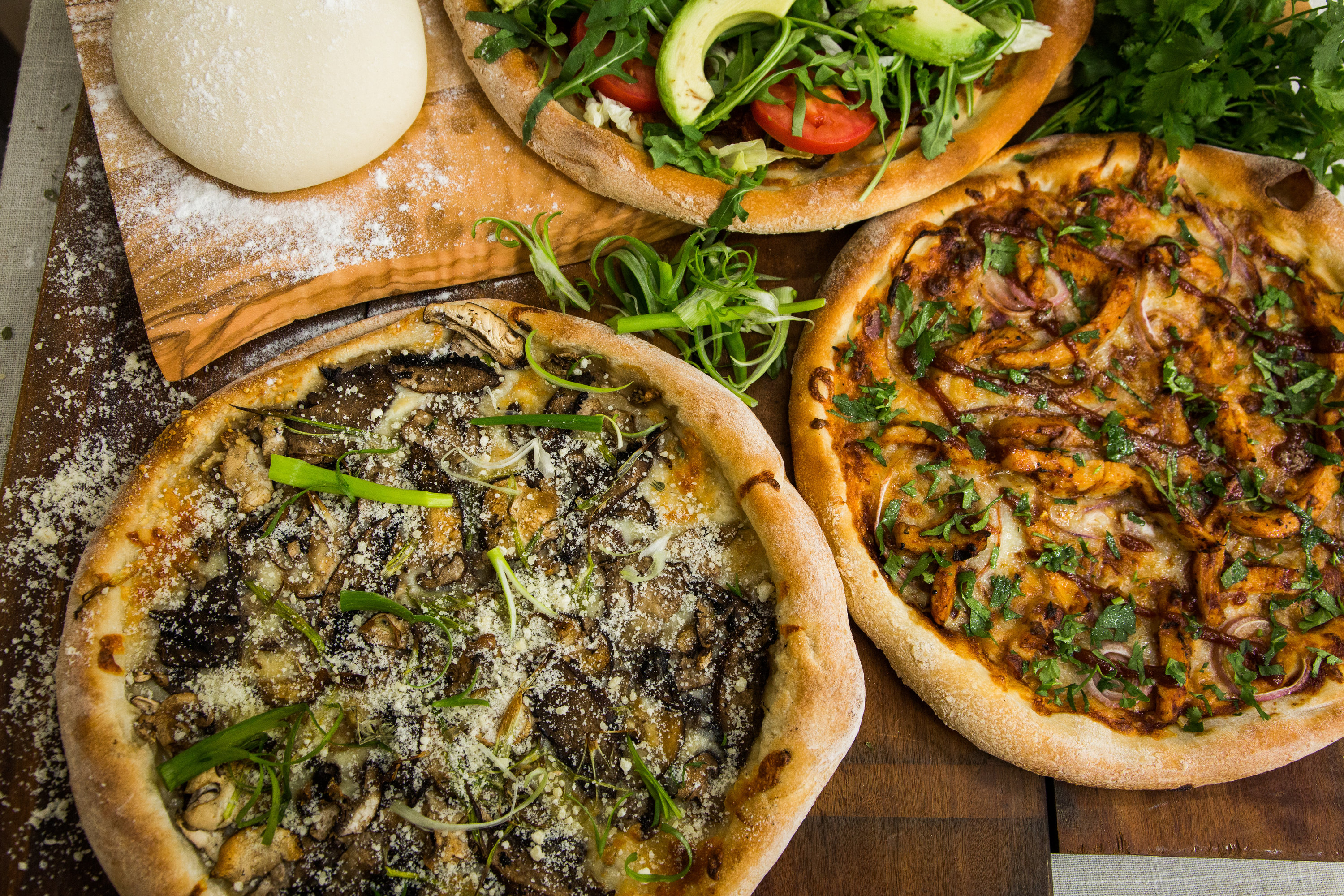 Recipes - Home & Family: Han-Tossed Pizza Dough   Hallmark Channel