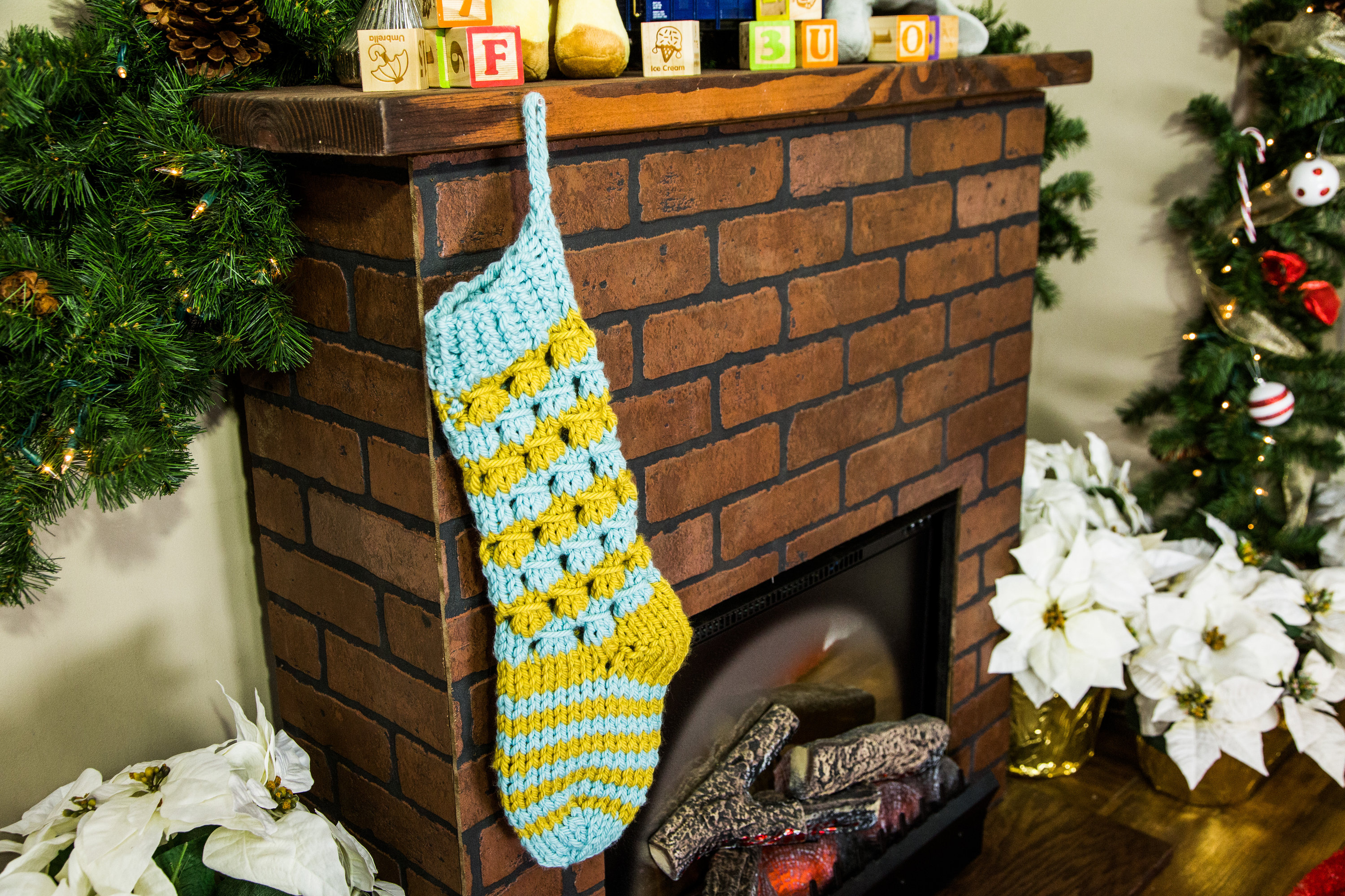 How To Knitted Christmas Stockings