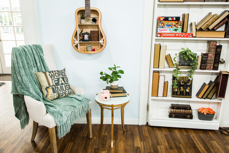 How To DIY Guitar Shelf