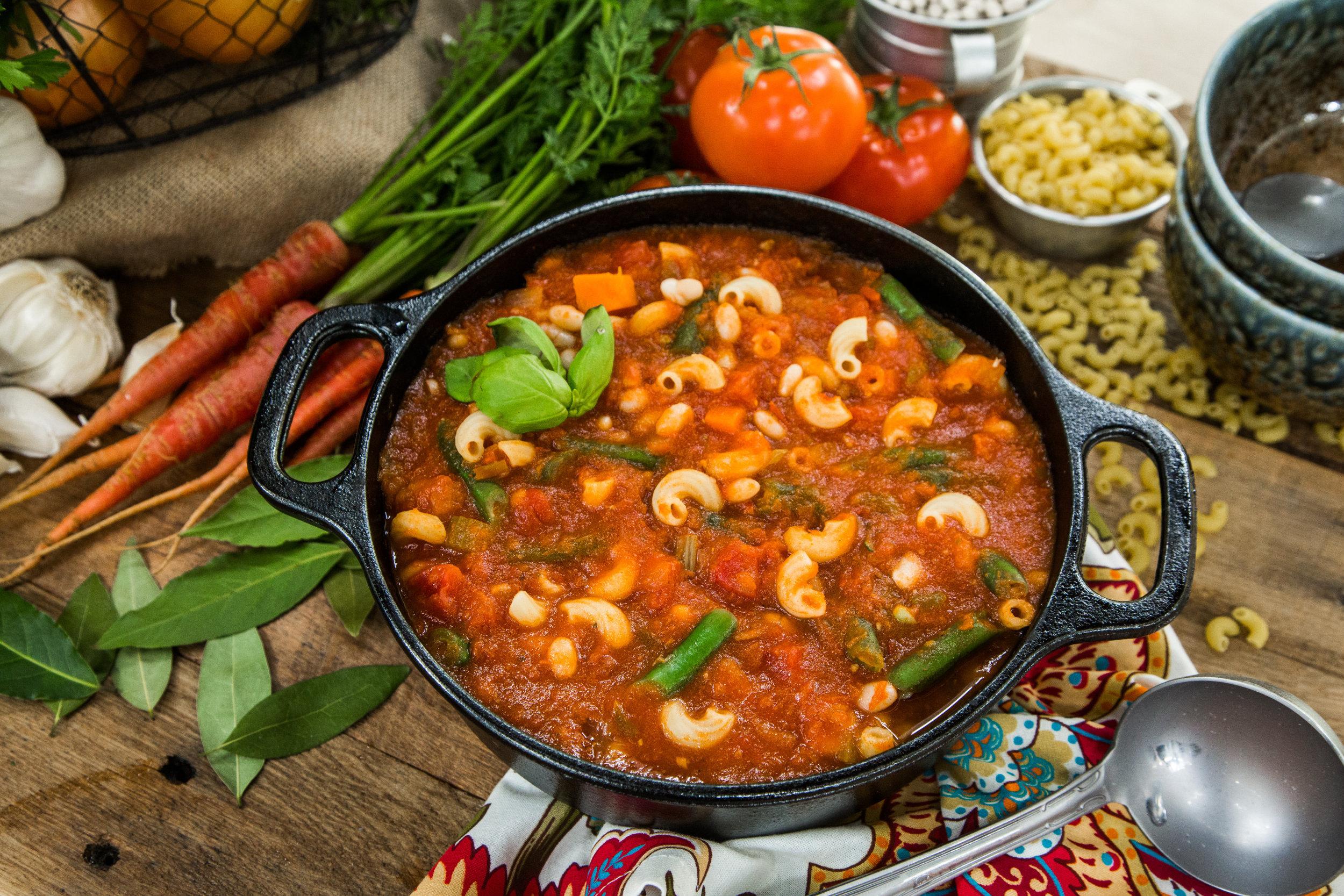 Recipes Classic Minestrone Soup Hallmark Channel