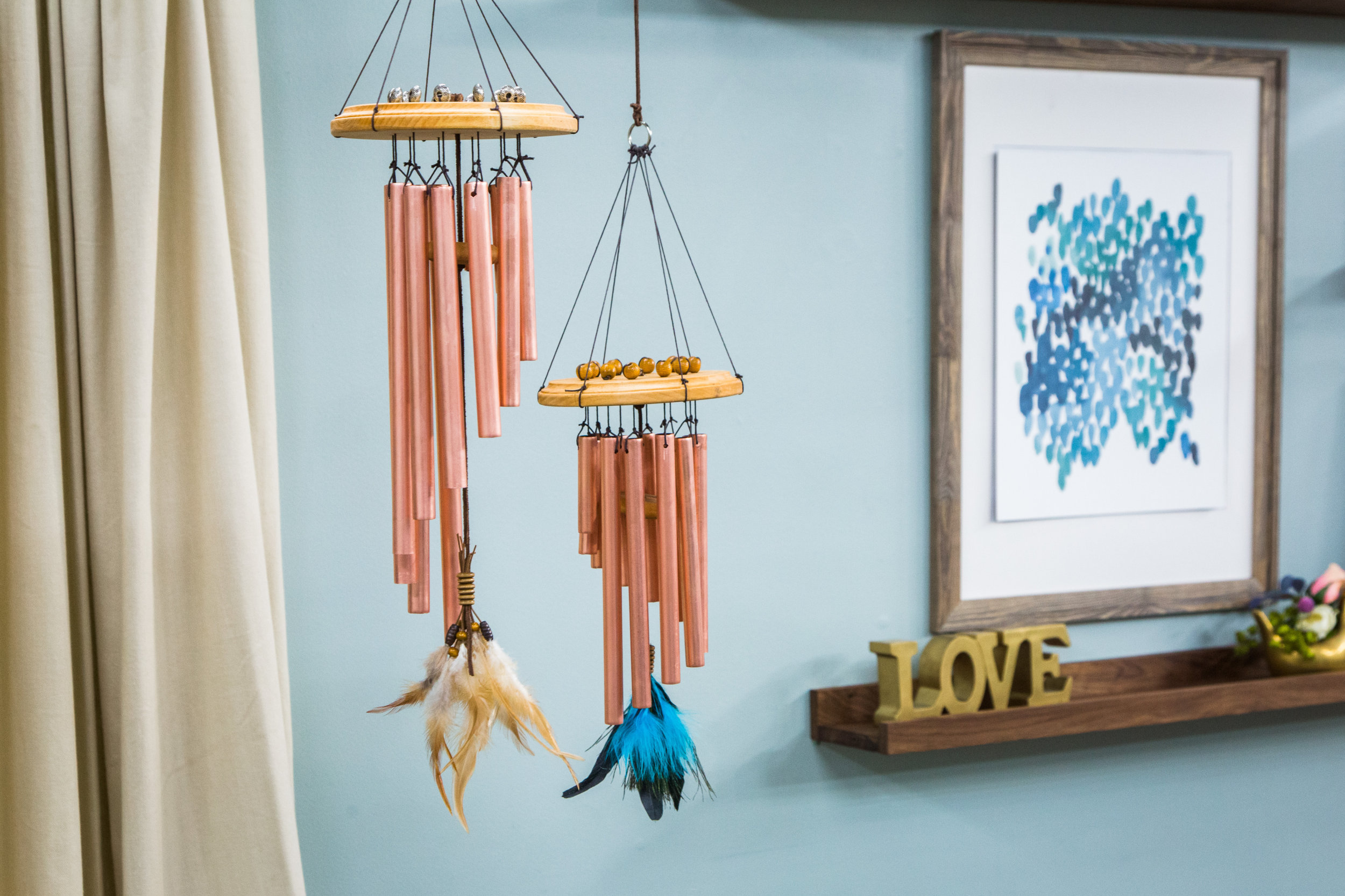 How To Diy Wind Chimes Home