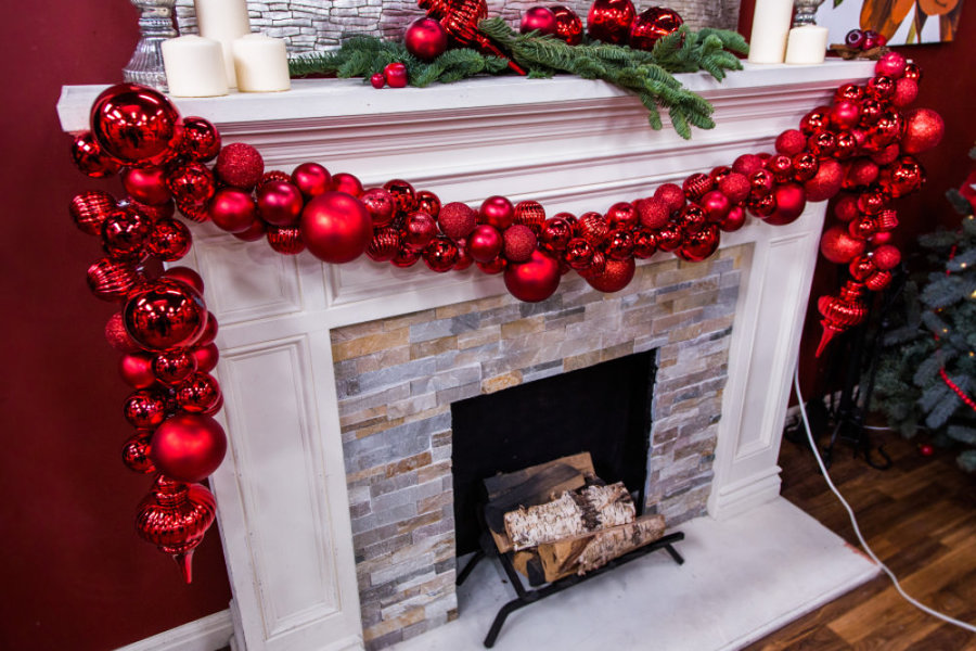 Ken Wingard S Diy Christmas Ornament Garland Home Family