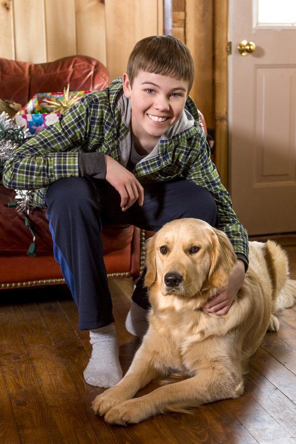 Gage Munroe - Cast- Christmas with Tucker | Hallmark ...