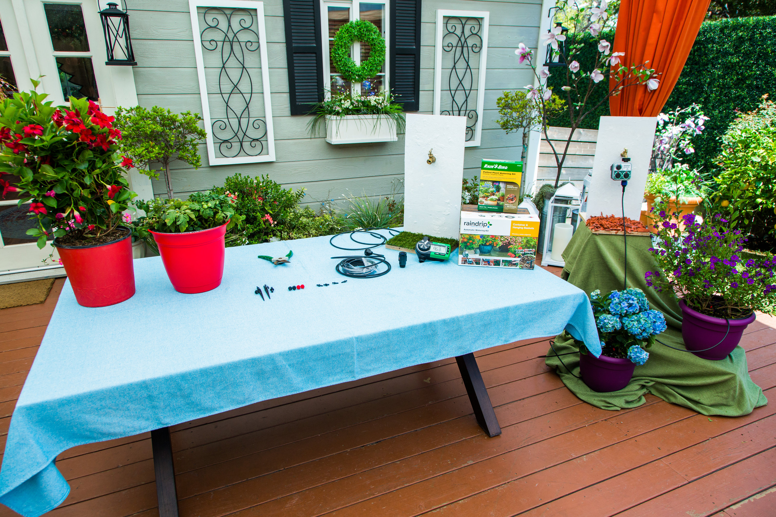 How To - How to Water Plants While on Vacation | Hallmark Channel Watering Potted Plants On Vacation on self watering plants on vacation, water while on vacation, watering plants while on vacation, watering house plants on vacation, watering spikes for plastic bottles,
