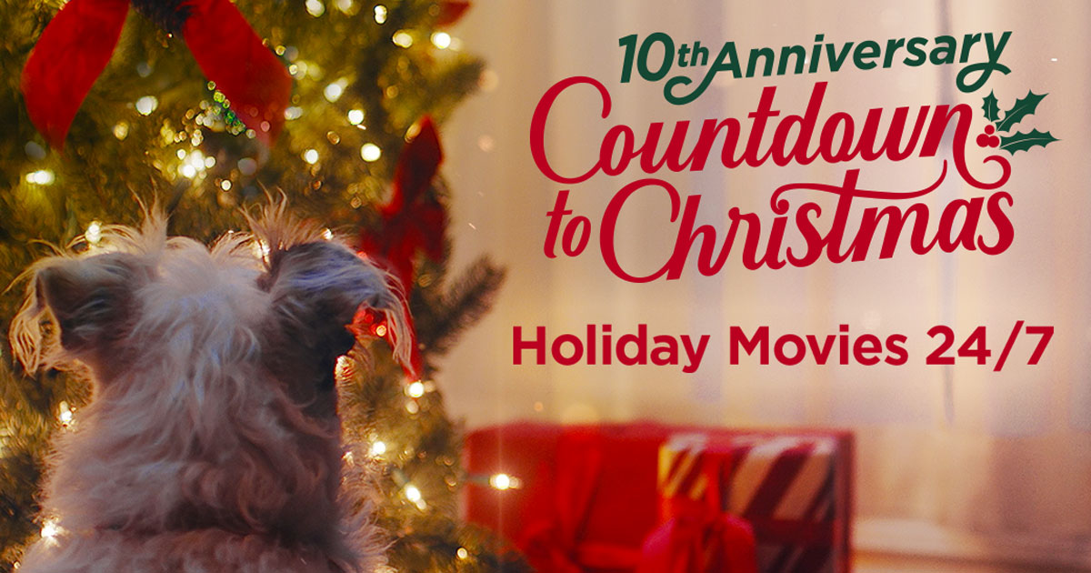 12 Dog Days Till Christmas.Countdown To Christmas 2019 Holiday Movies Sweepstakes
