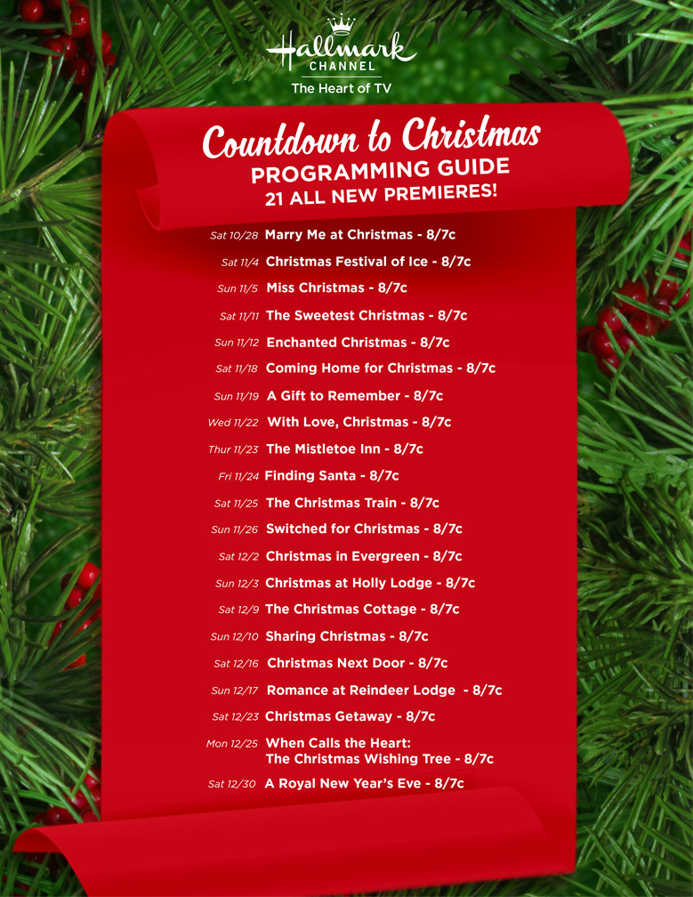 New Movies 2017 - Countdown to Christmas   Hallmark Channel