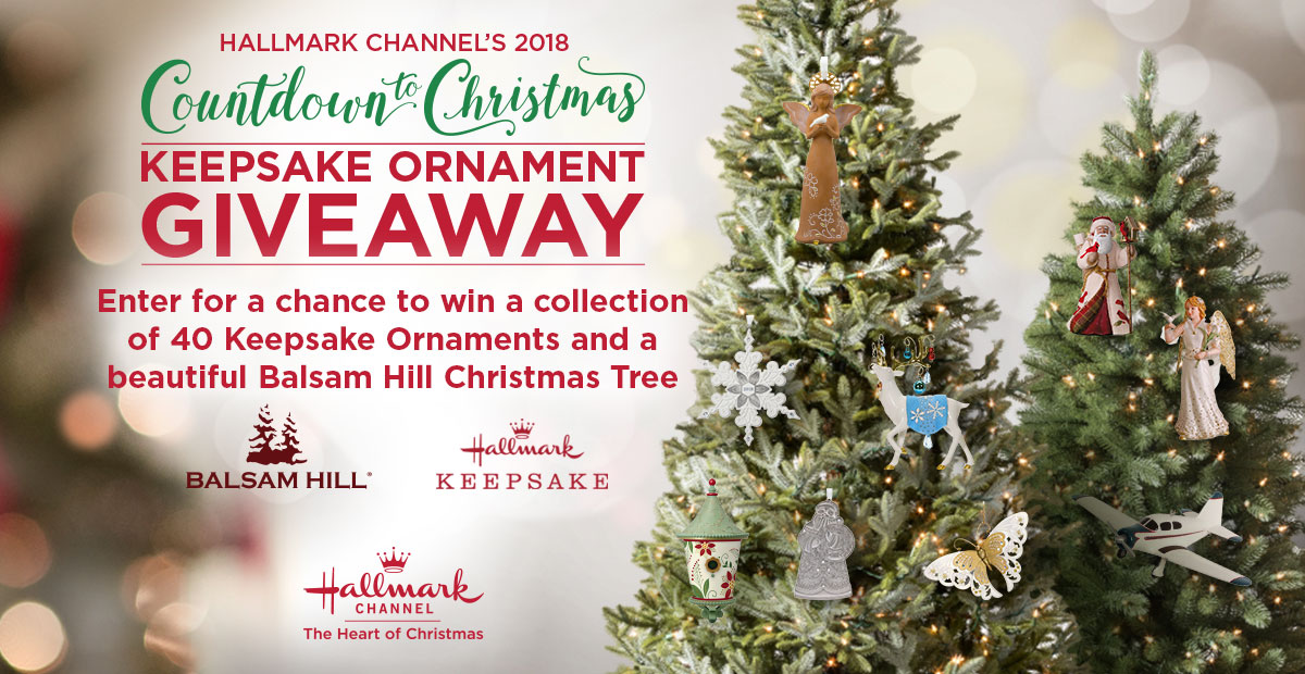 countdown to christmas keepsake ornament giveaway countdown to christmas hallmark channel - Images For Christmas