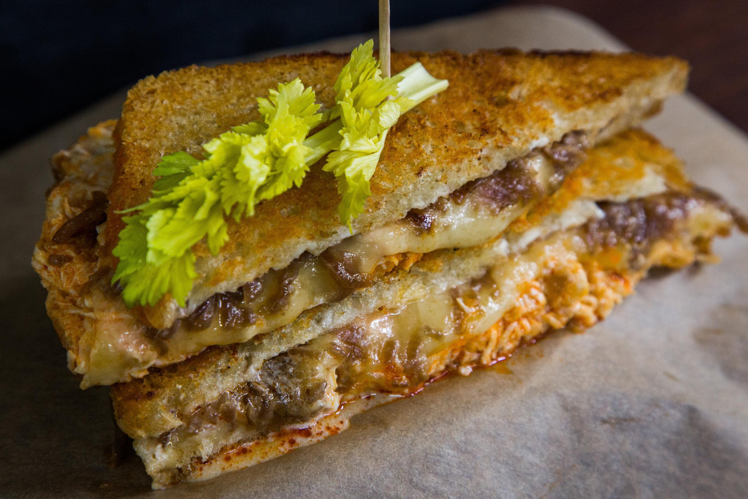Recipe Grilled Buffalo Chicken Sandwich Home Amp Family Hallmark Channel
