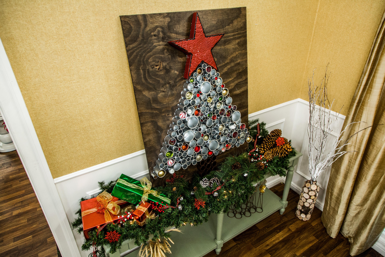 DIY PVC Pipe Christmas Tree