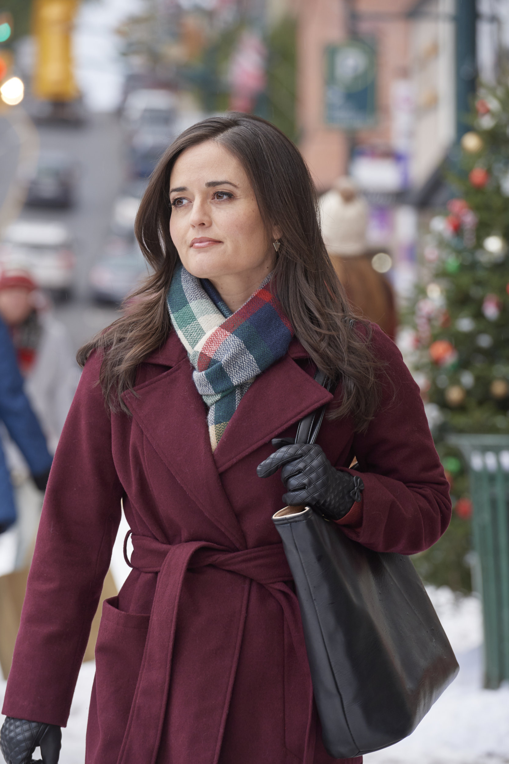 Danica McKellar as Kelly on Christmas at Grand Valley | Hallmark Movies and Mysteries