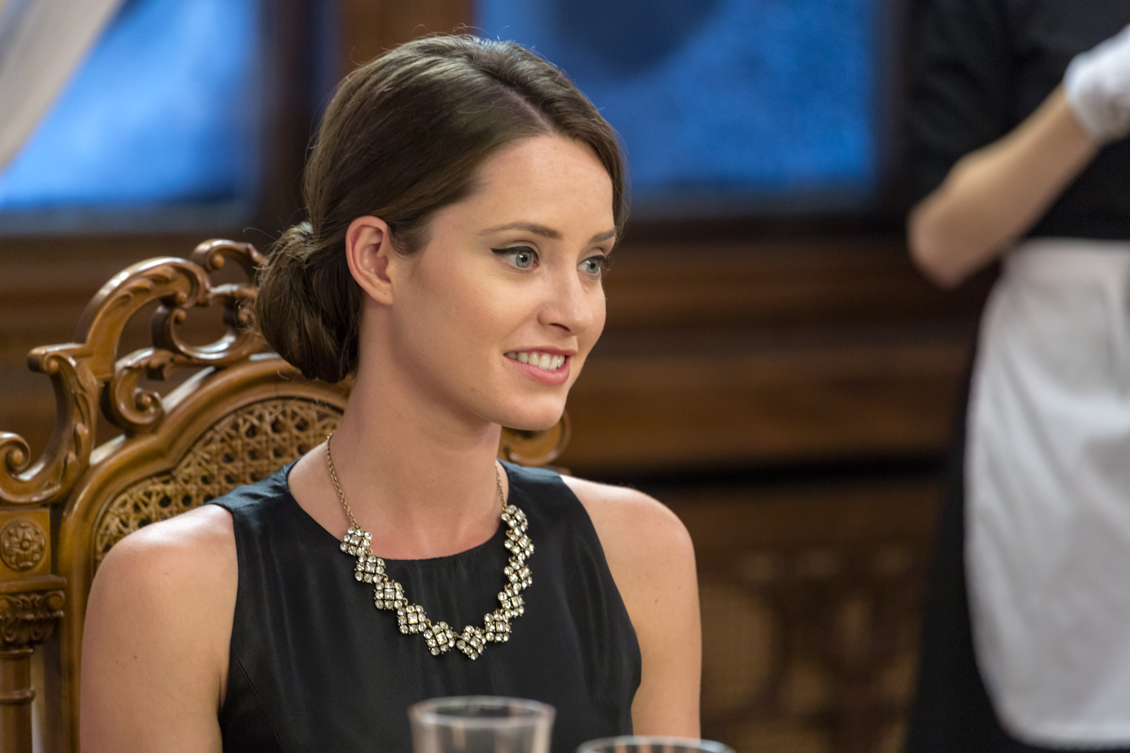 Merritt Patterson as Maggie Marks on A Royal Winter