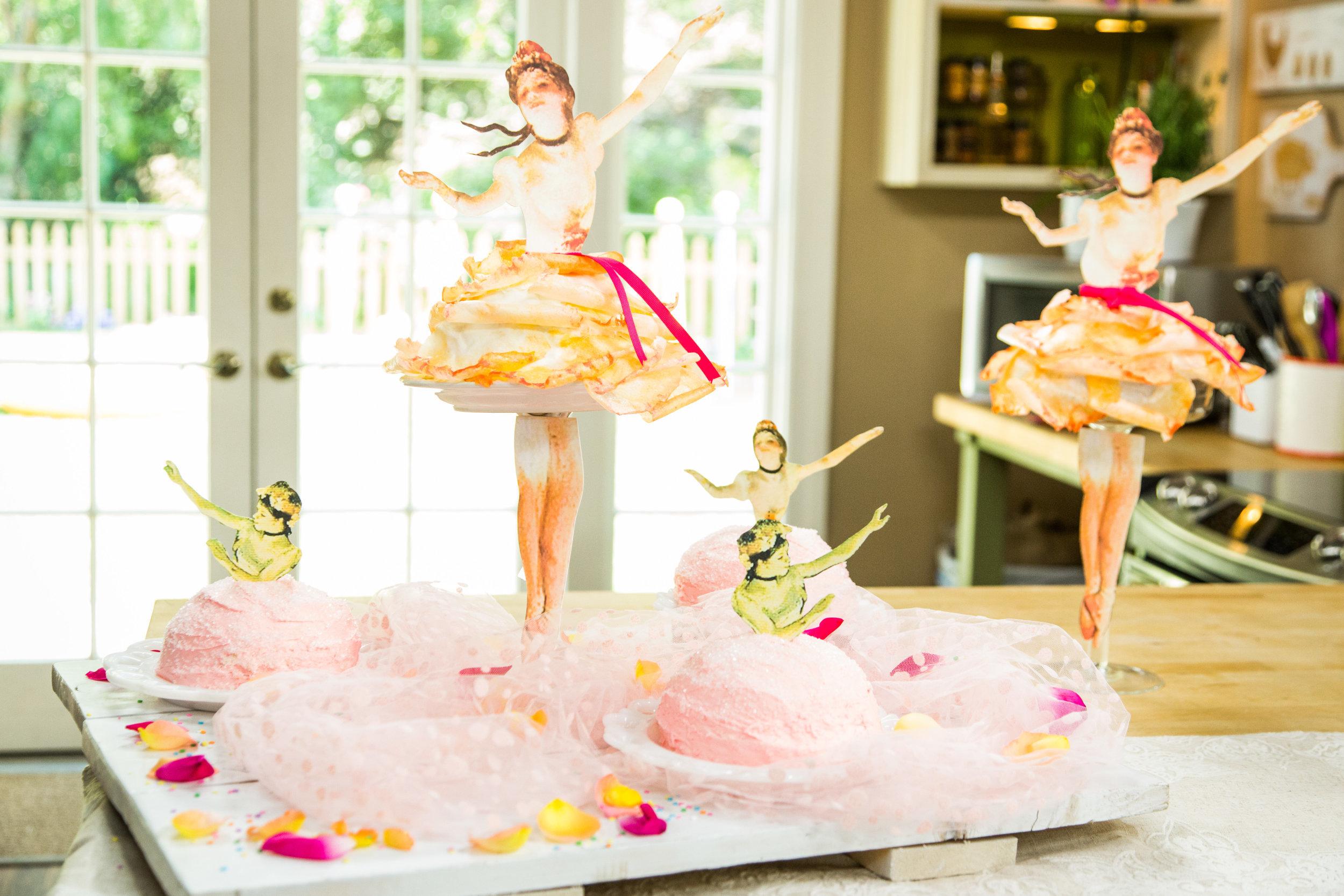How To Home Family Ballerina Birthday Cake Hallmark Channel