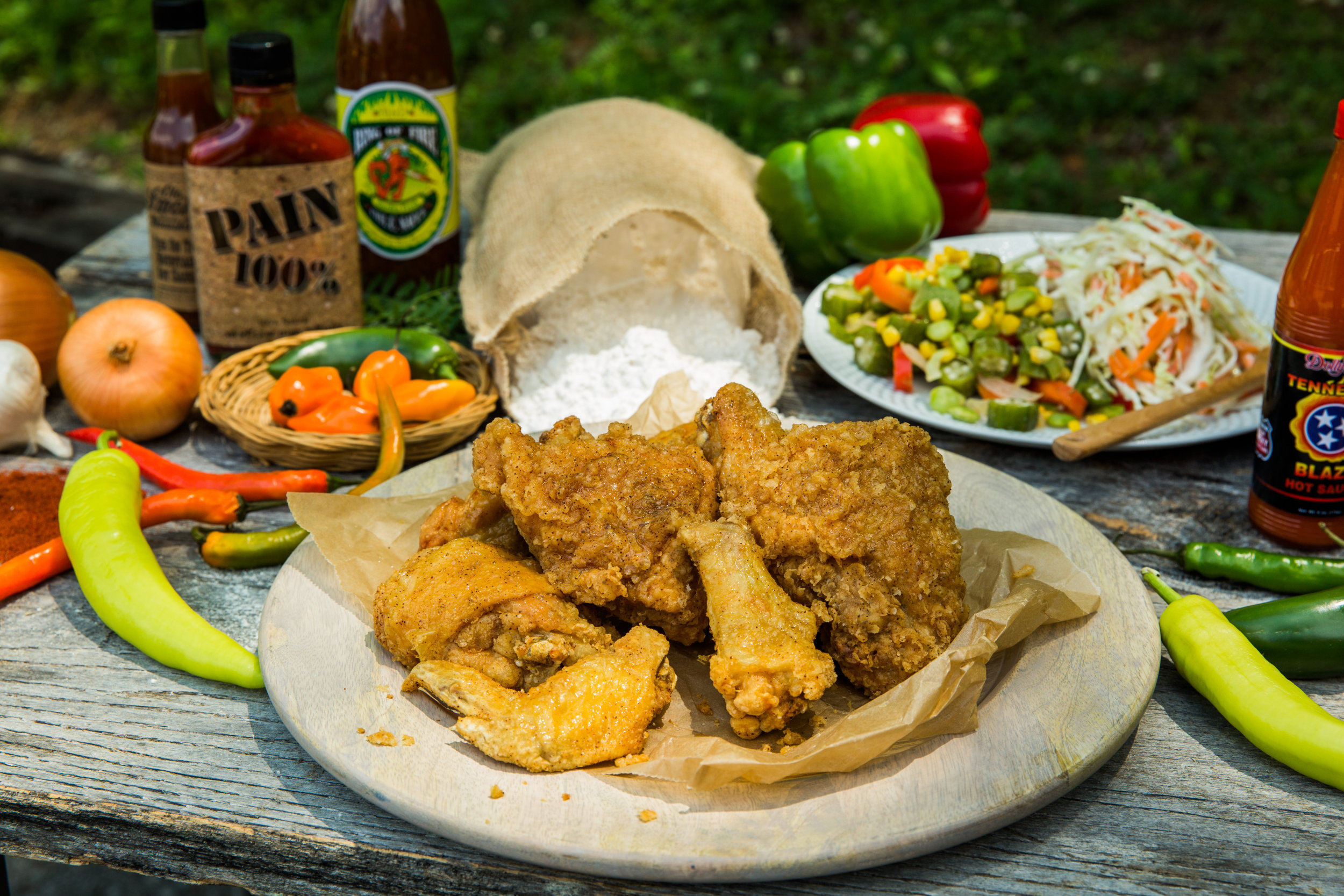 Fried chicken - a favorite family dish 34