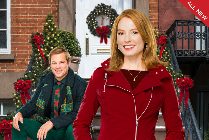 video im not ready for christmas hallmark channel - All About Christmas Eve Cast