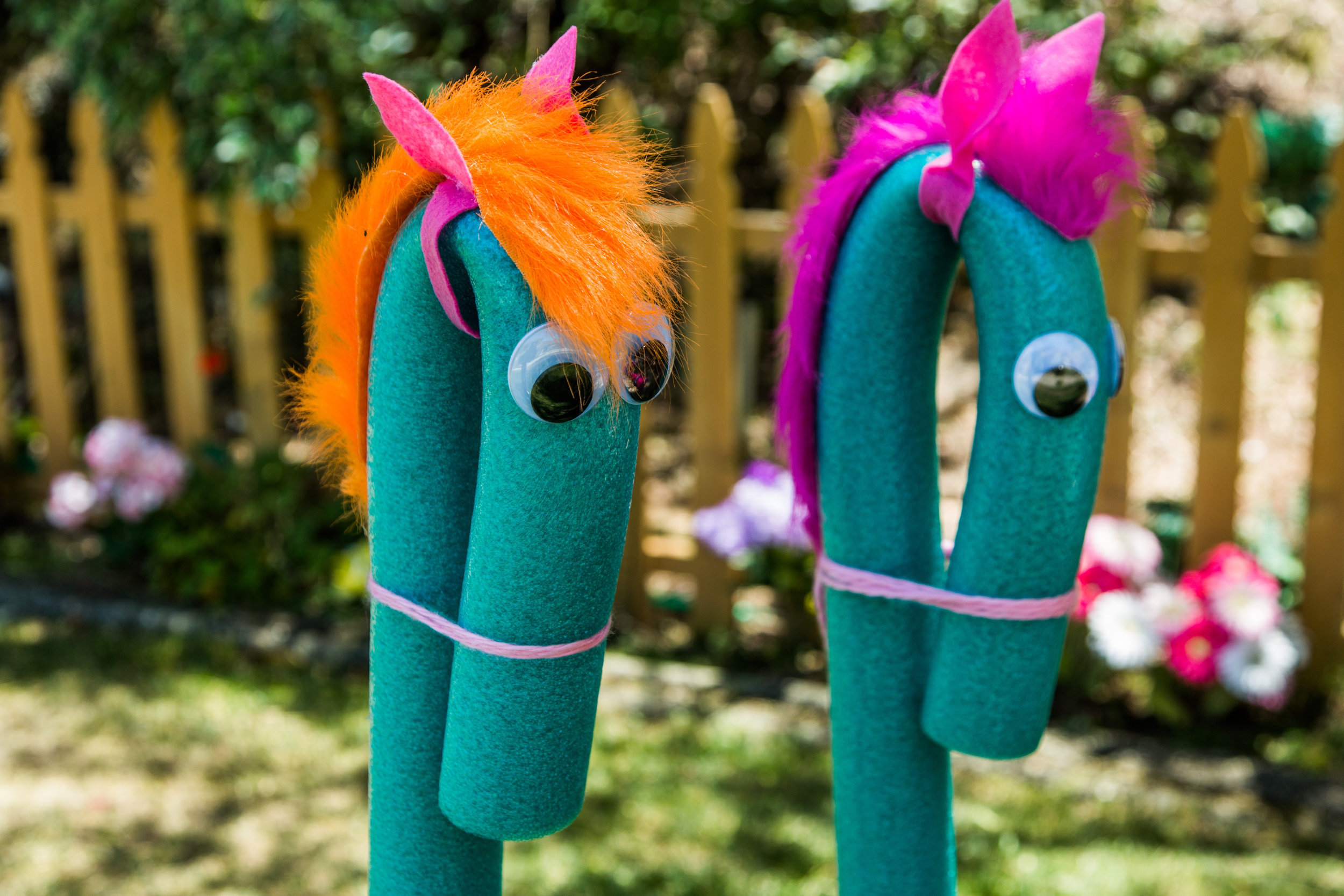 How To Diy Pool Noodle Seahorse Home Amp Family