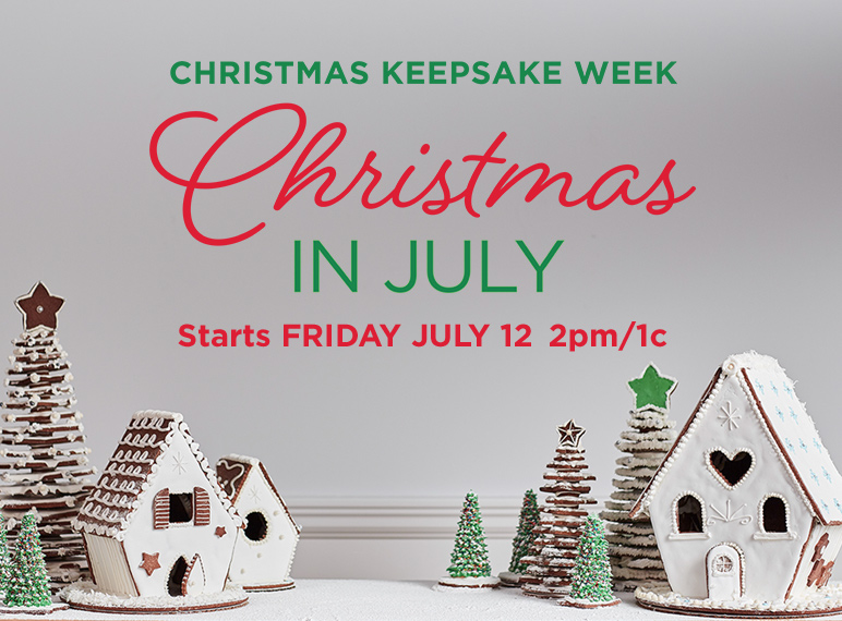 Christmas In July Hallmark.Christmas In July Christmas Keepsake 2019 Schedule