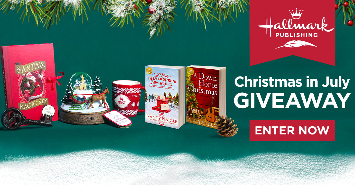 Christmas In July Hallmark.Christmas In July Giveaway Hallmark Publishing Hallmark