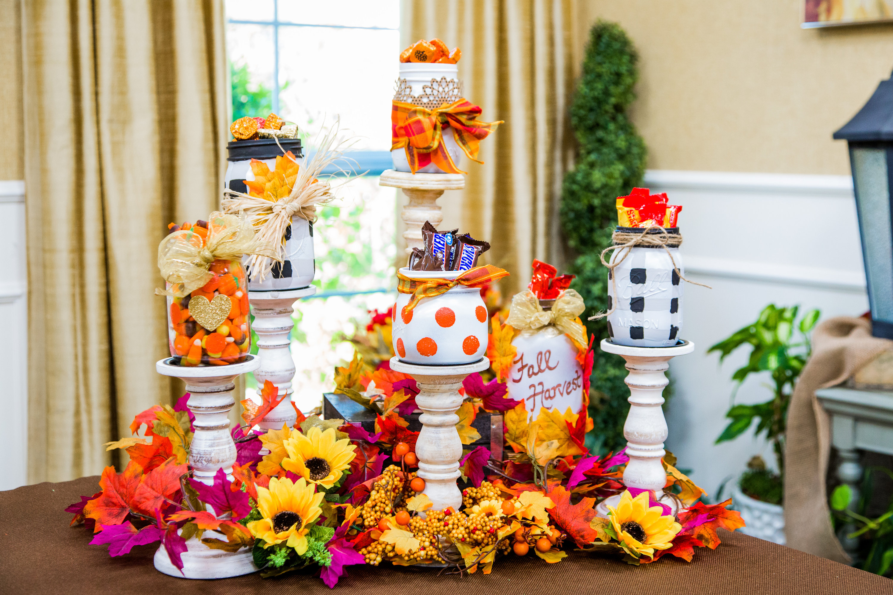 How To Diy Fall Mason Jars Hallmark Channel