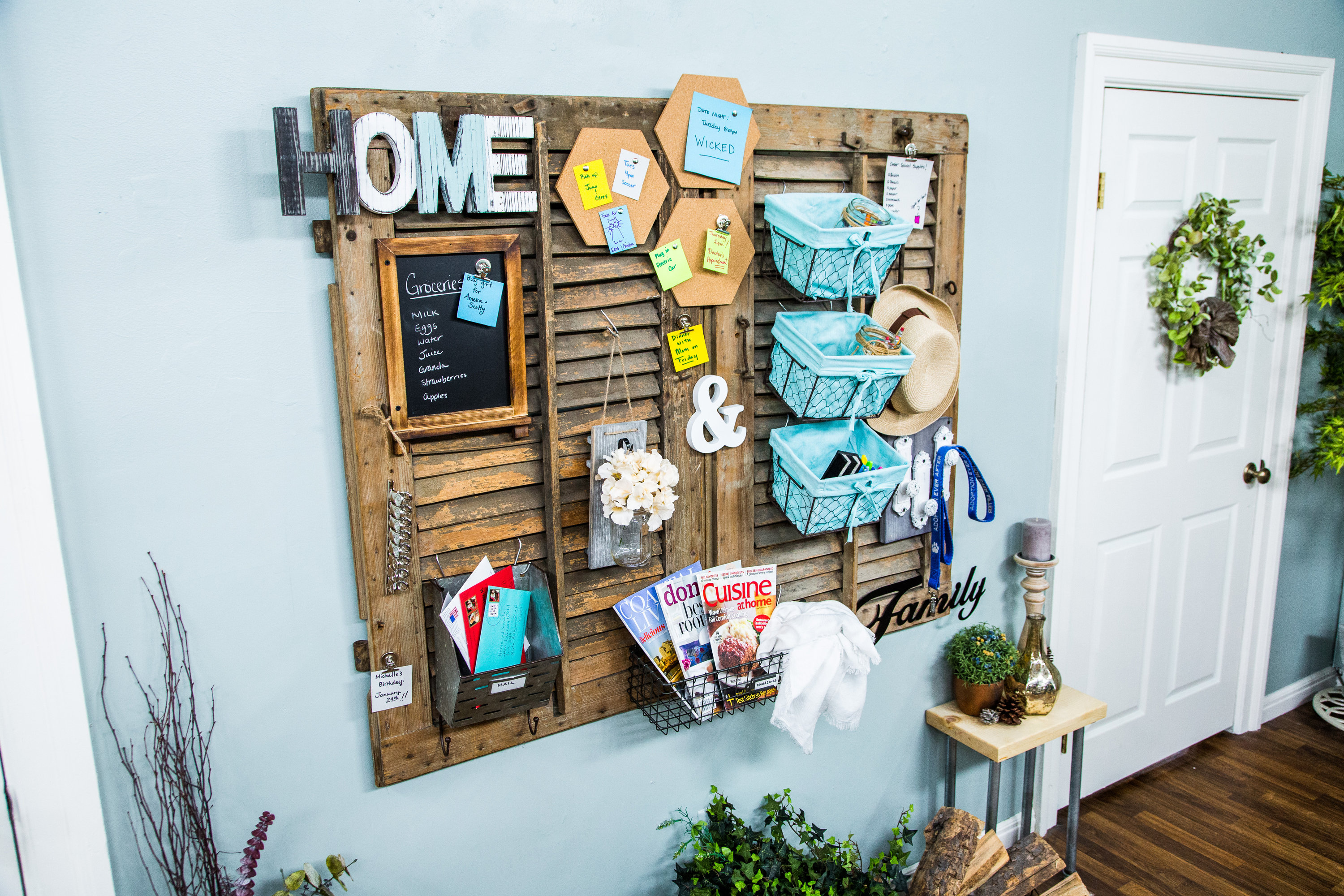 How To Diy Command Center Hallmark Channel