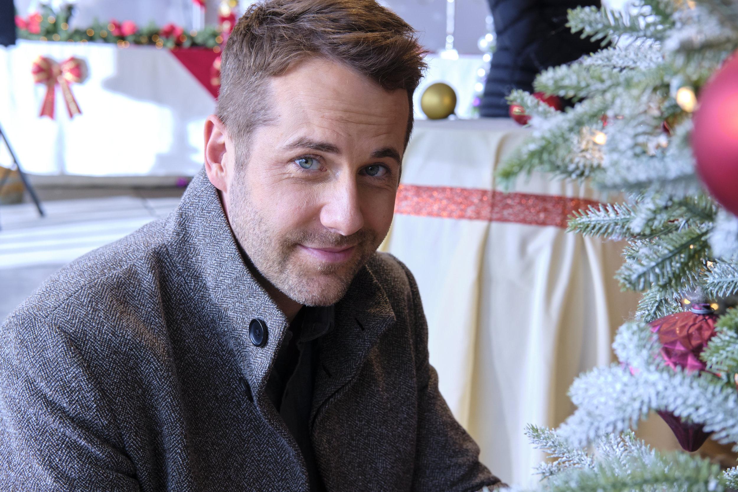Niall Matter as Luke on Christmas at