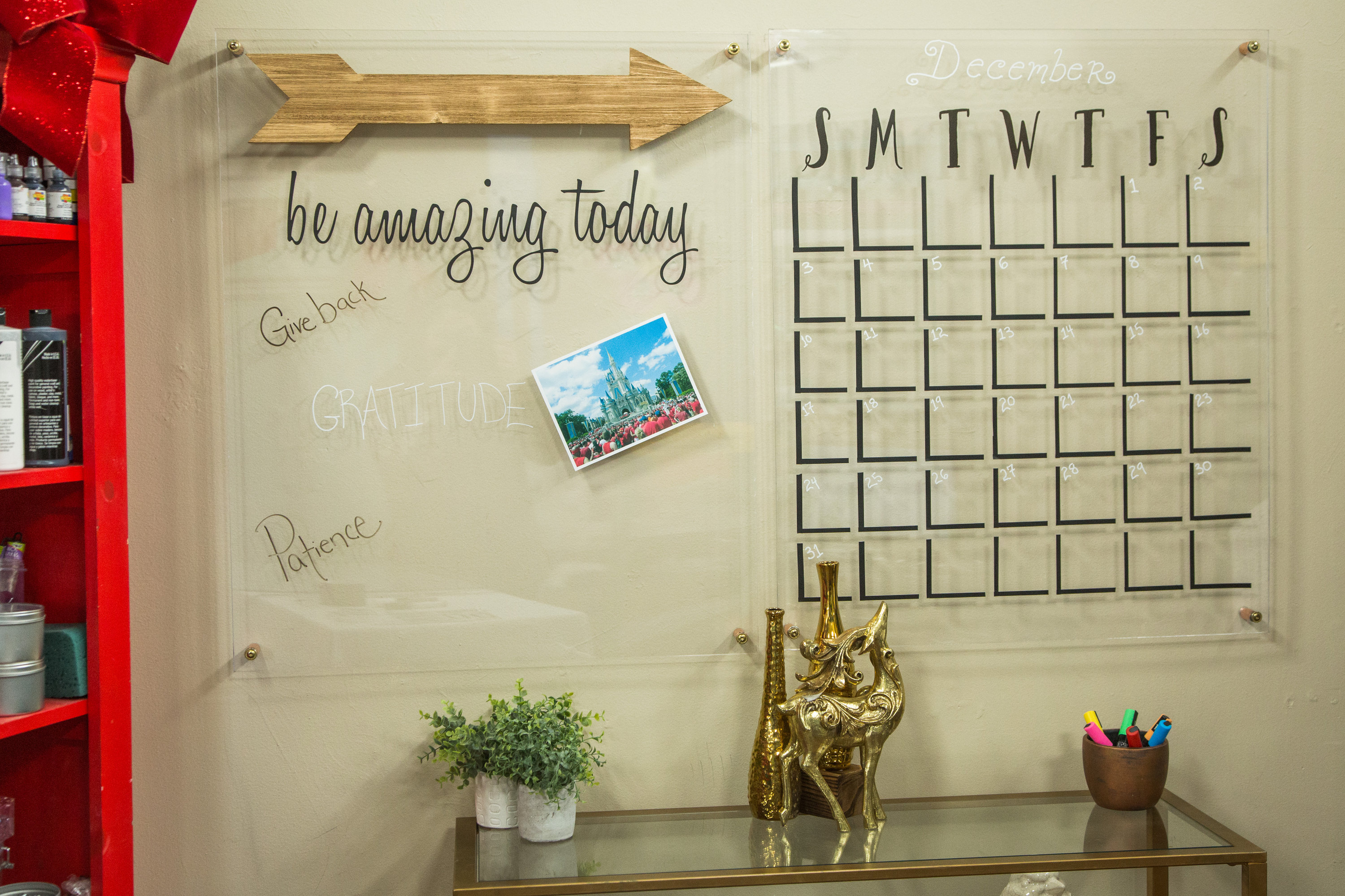 How To Diy Vision Board Wall Calendar Hallmark Channel