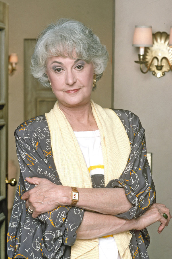 Bea Arthur As Dorothy Zbornak On Golden Girls