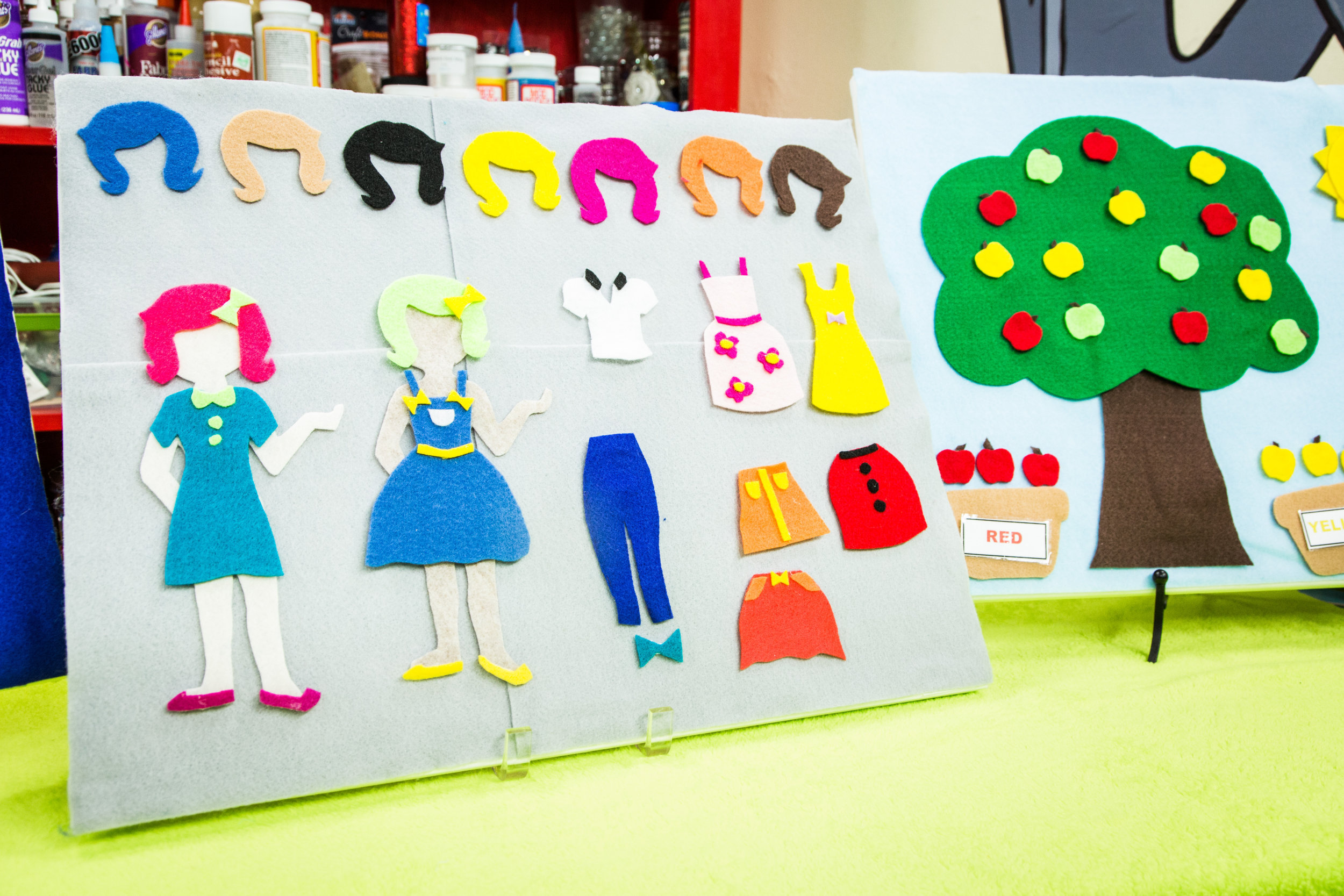 How To Home Amp Family Diy Felt Boards For Kids