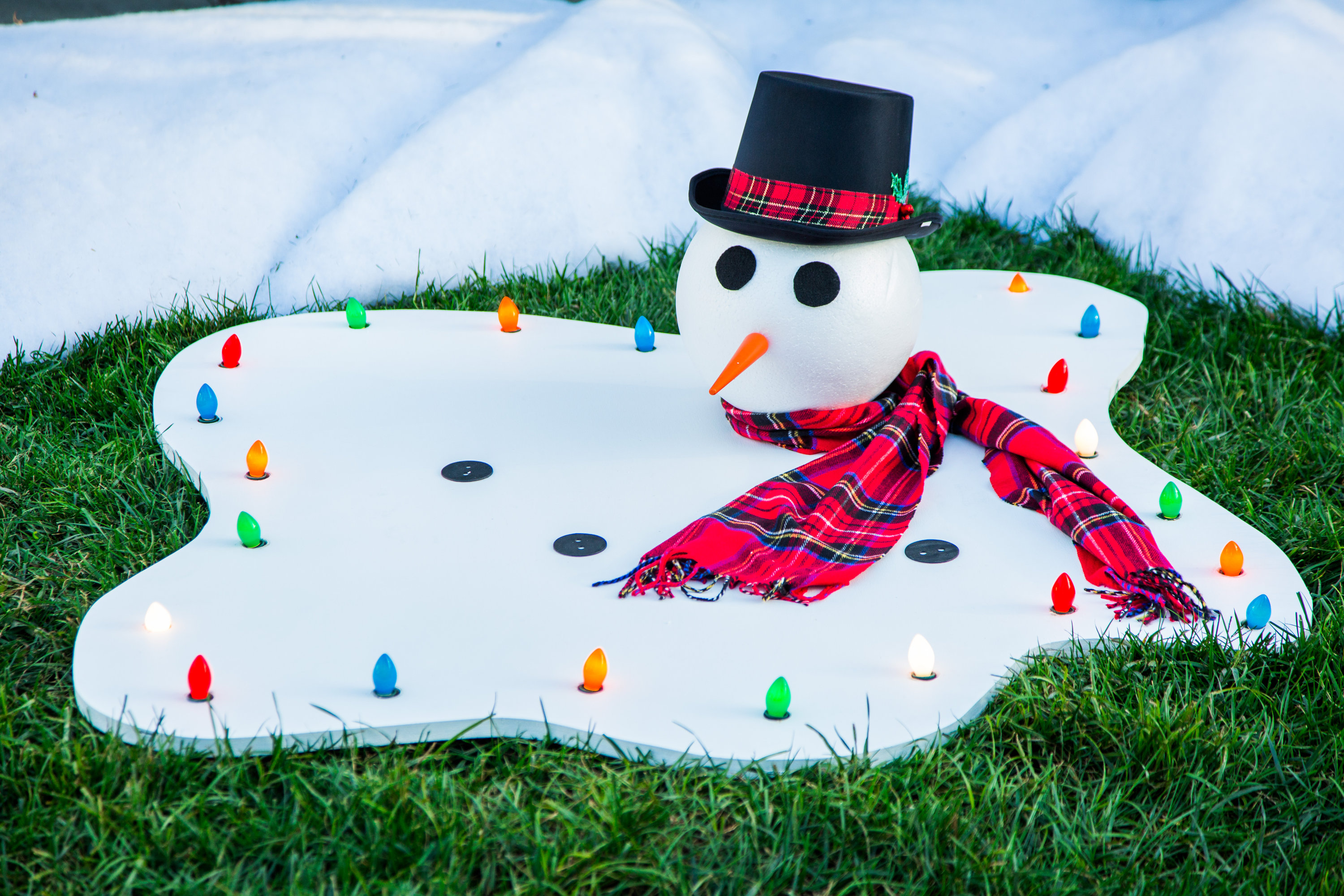 How To Diy Melted Snowman Hallmark Channel