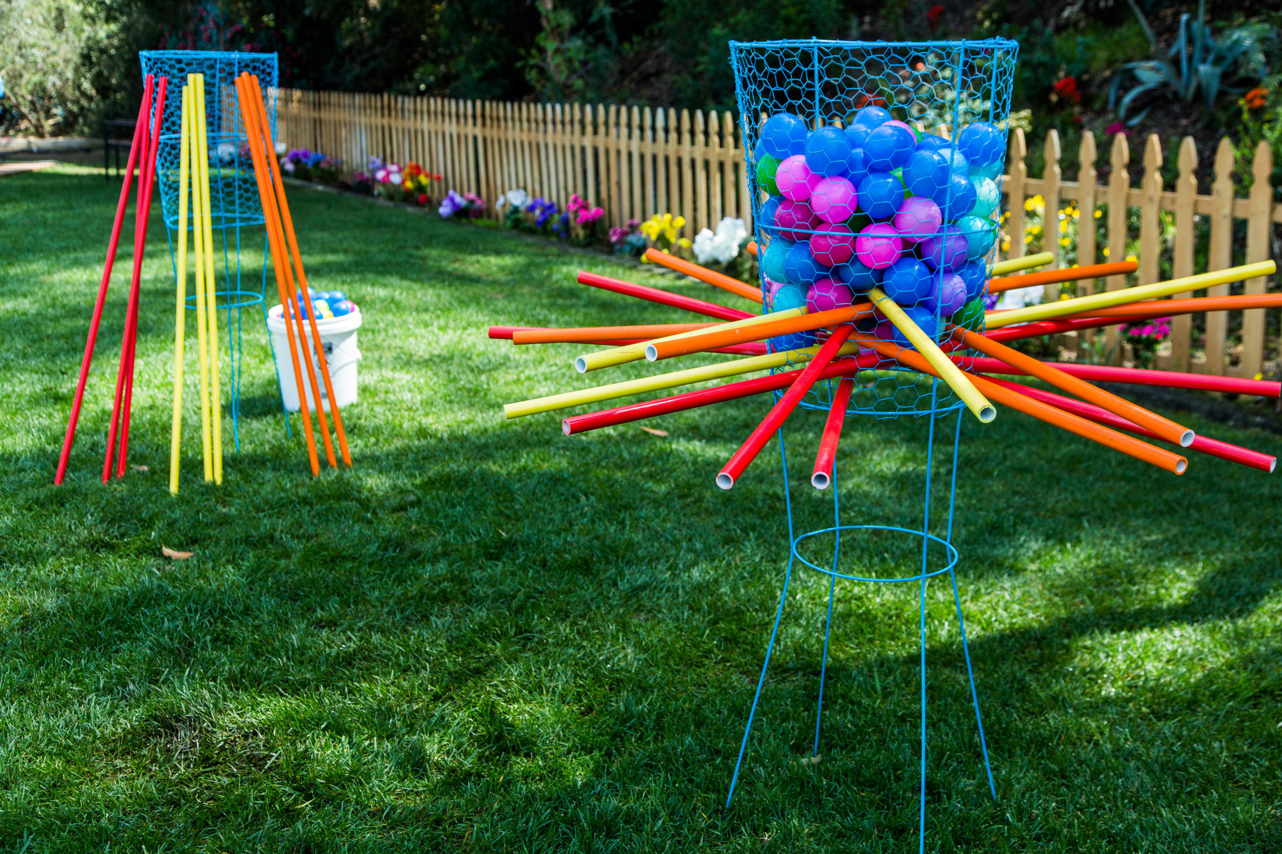 Diy Life Size Kerplunk Game Home Family Hallmark Channel