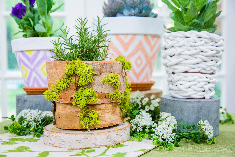 How To Diy Flower Pots Three Ways Hallmark Channel