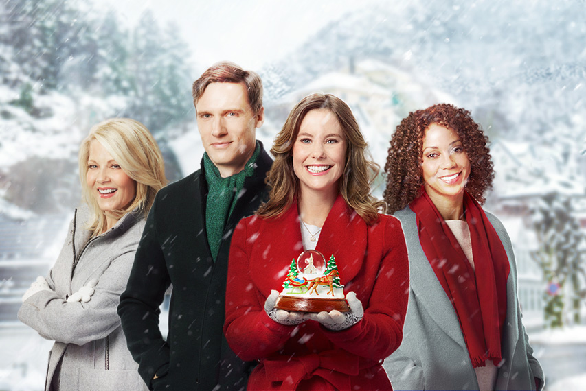Christmas In Evergreen Snow Globe.Christmas In Evergreen Hallmark Channel