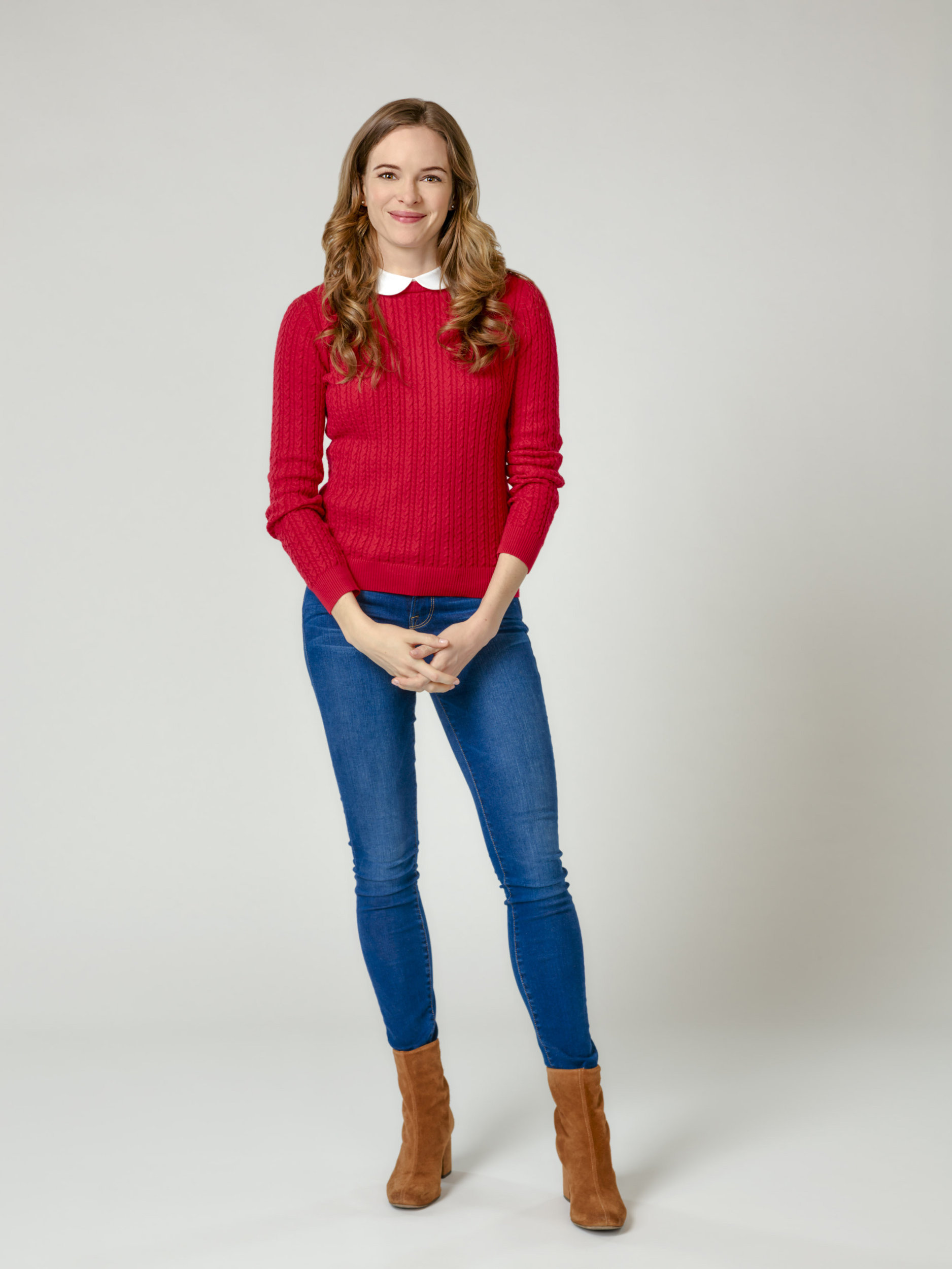 Danielle Panabaker as Joy Holbrook on Christmas Joy | Hallmark Channel