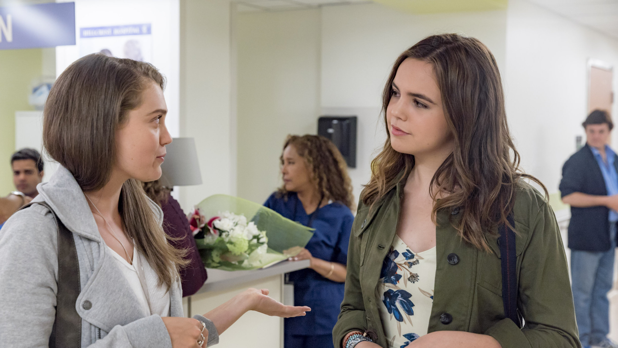 Bailee Madison as Grace on Good Witch: Secrets of Grey House ...