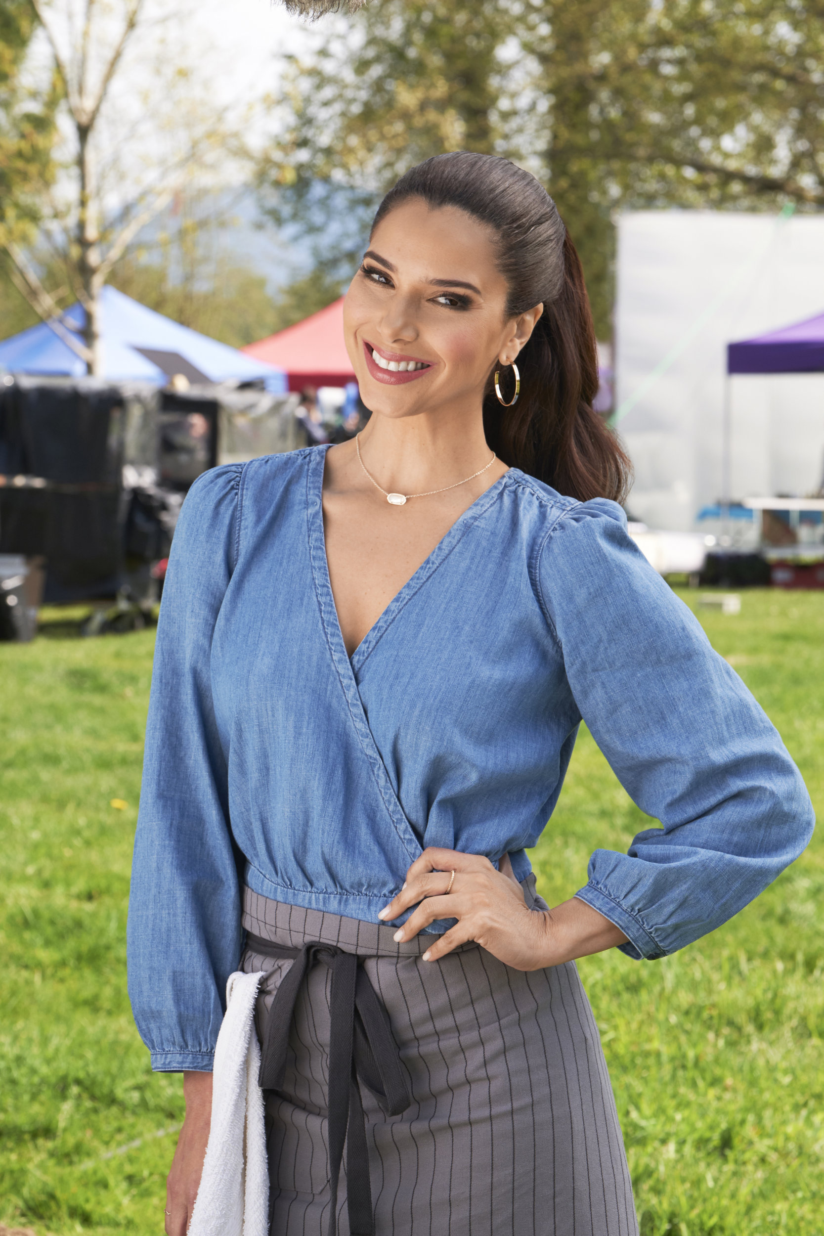 Giovanni Ribisi Naked roselyn sanchez as gabby on a taste of summer | hallmark channel