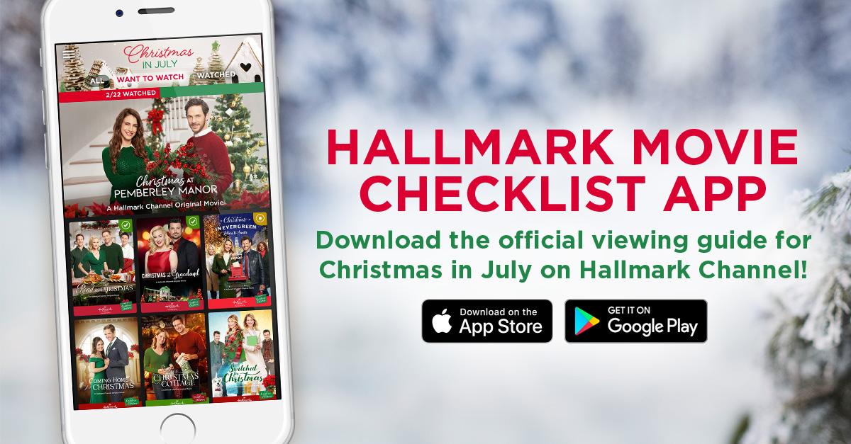Hallmark Movie Checklist App   Hallmark Channel