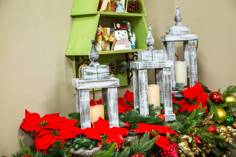 Christmas Lanterns.How To Diy Rustic Christmas Lanterns Hallmark Channel