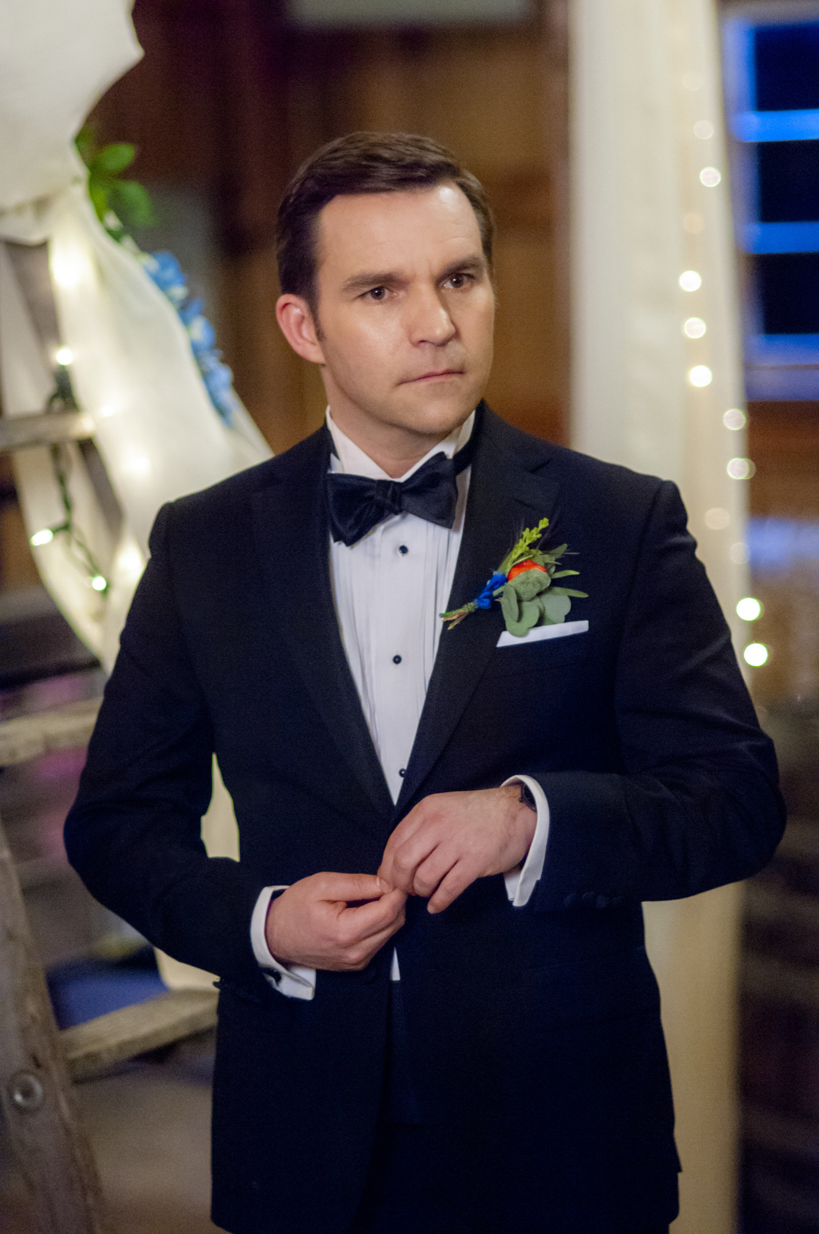 Geoff Gustafson As Norman On Signed Sealed Delivered To