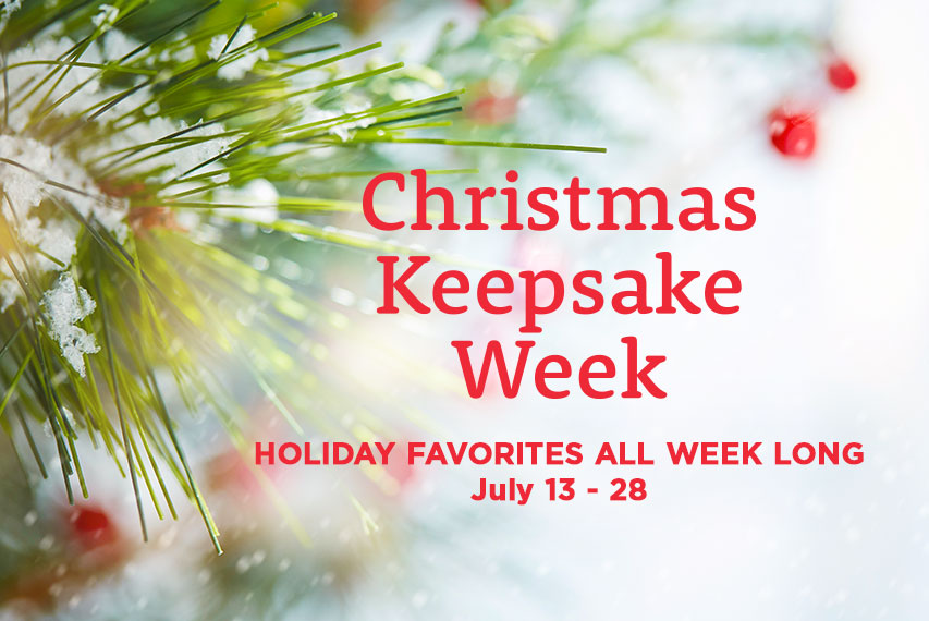 Christmas Keepsake Week 2018 Schedule | Christmas Keepsake Week ...