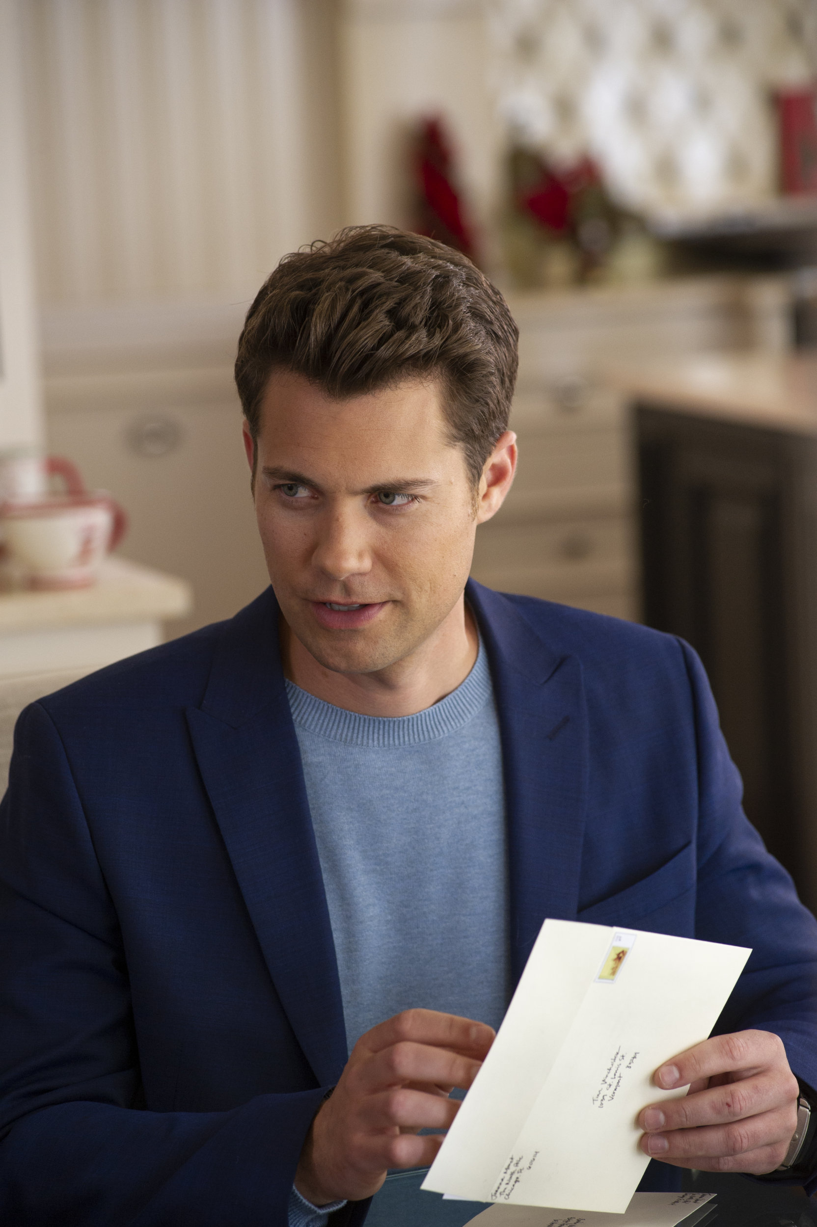 A Christmas For The Books.Drew Seeley On A Christmas For The Books Hallmark Movies