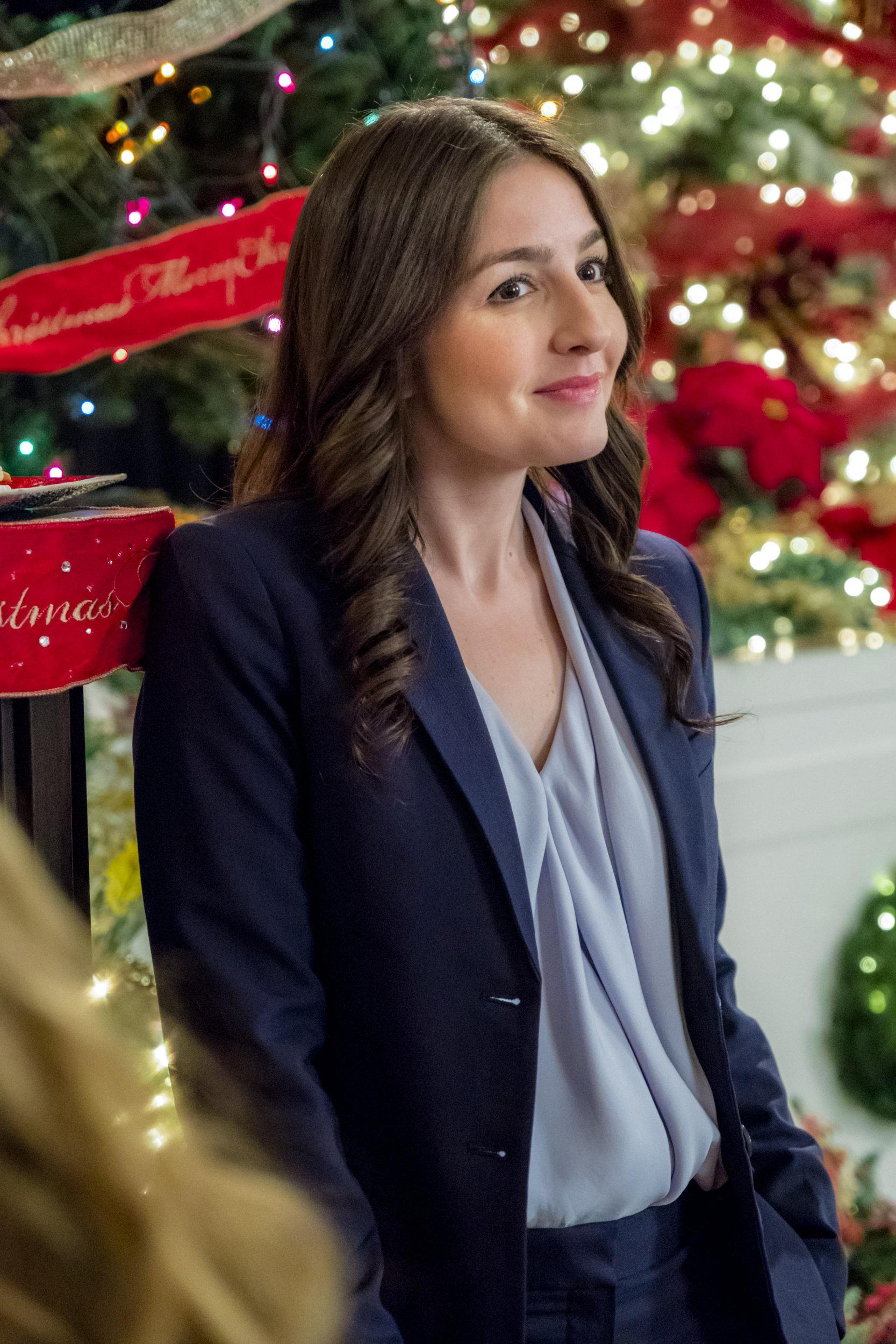 A Joyous Christmas 2019 Natalie Knepp as Rachel Kennedy on A Joyous Christmas | Hallmark